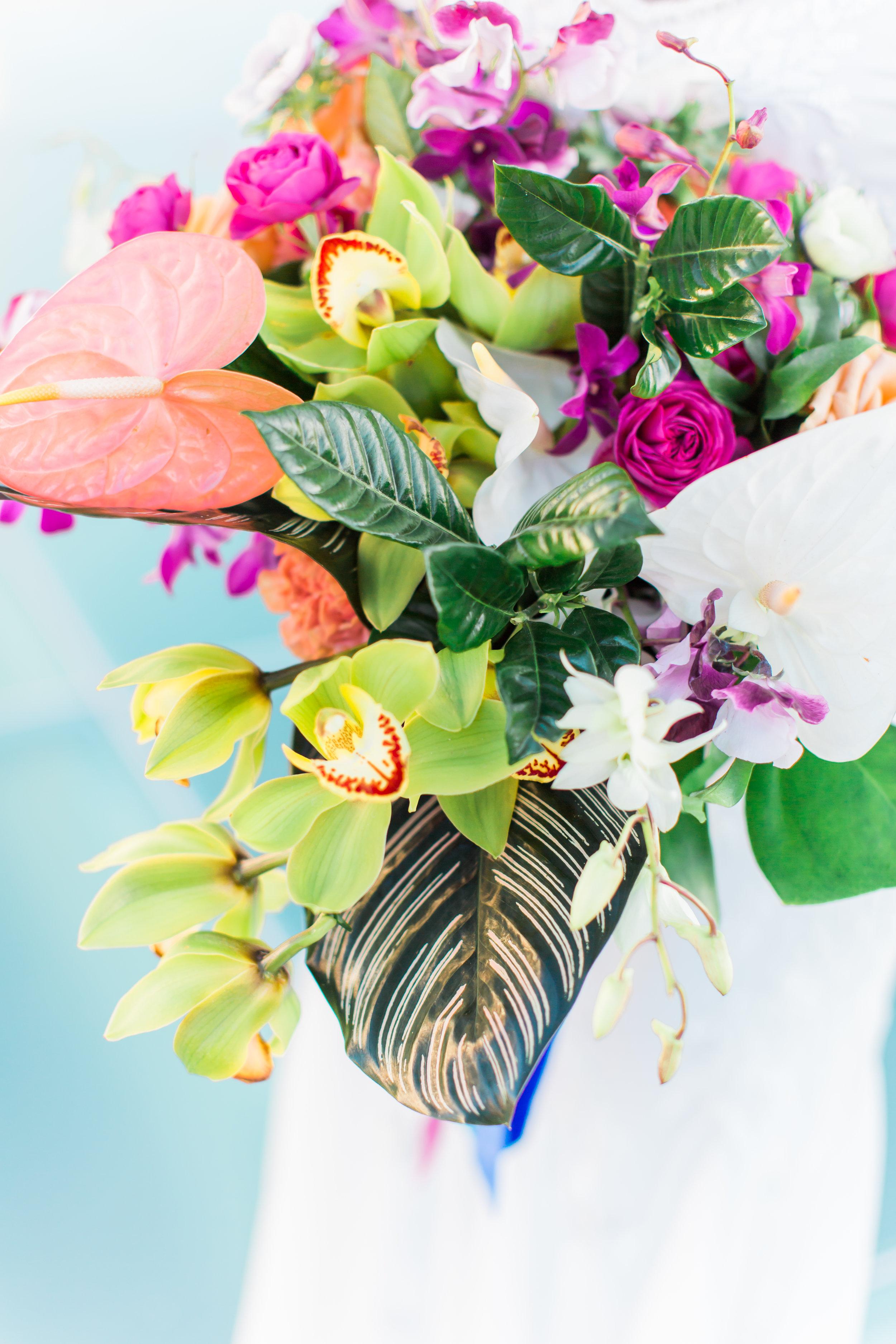 www.santabarbarawedding.com | Ann Johnson Events | MOXI | James & Jess | Floral Arrangement