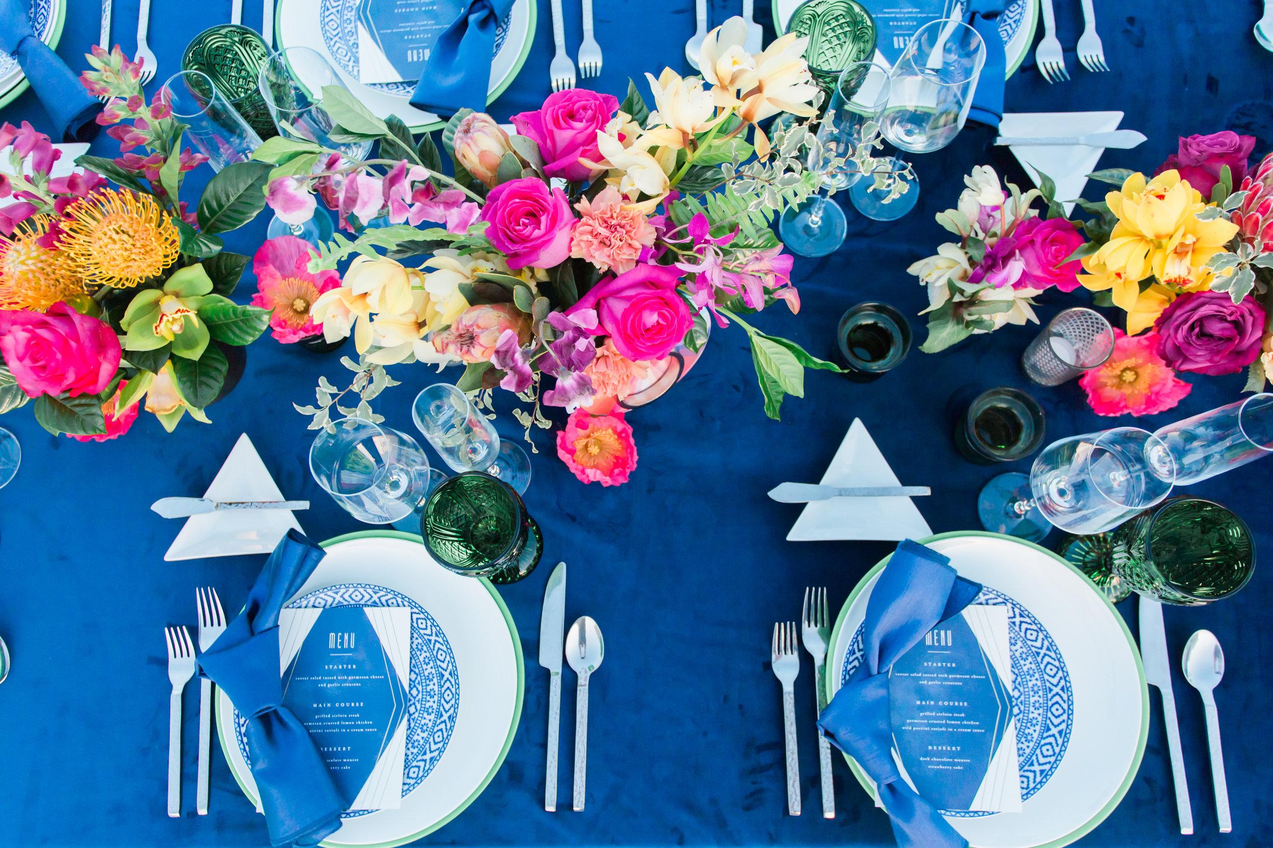 www.santabarbarawedding.com | Ann Johnson Events | MOXI | James & Jess | Place Setting