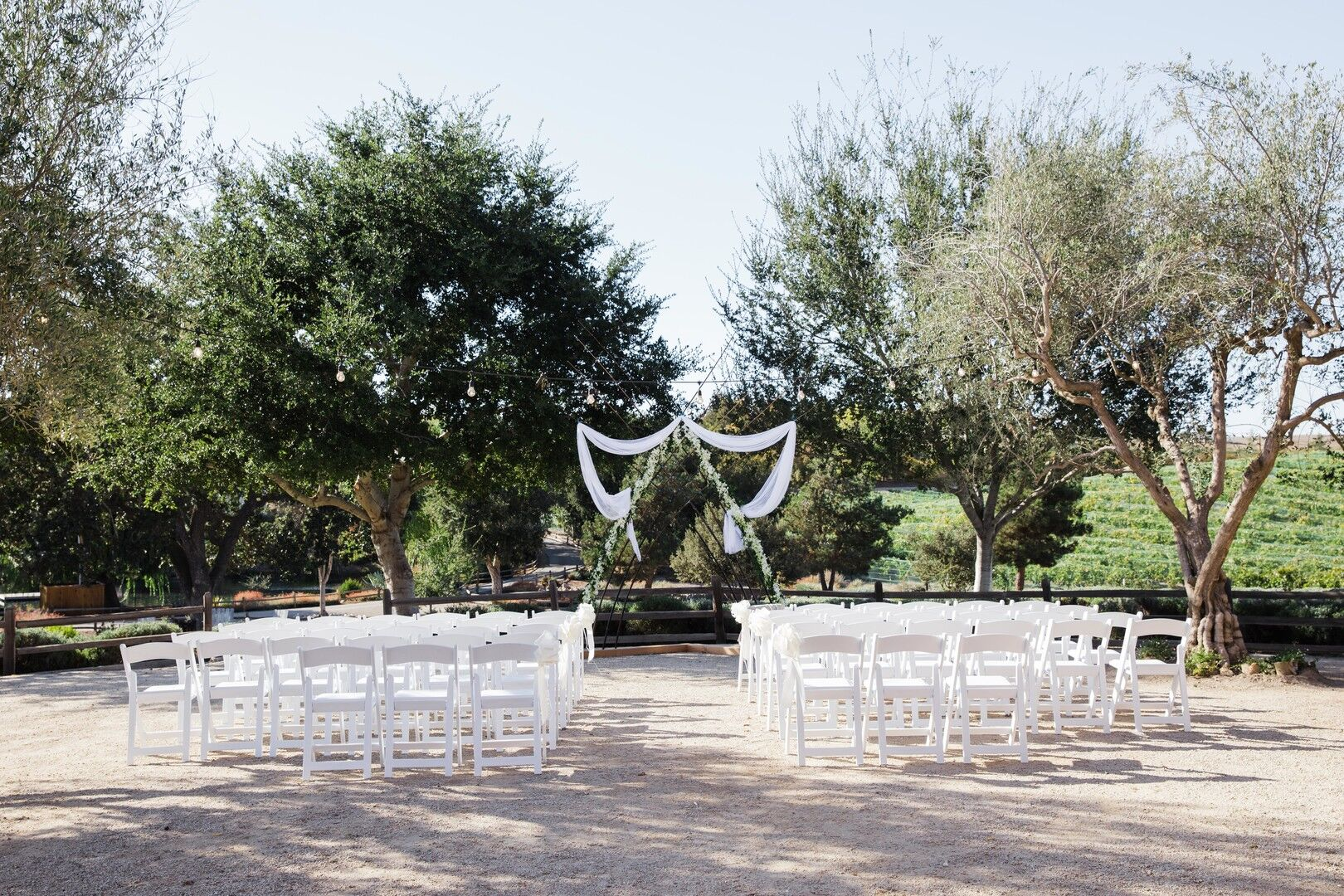 www.santabarbarawedding.com | Venue: Firestone Vineyard | Photographer: Just Kiss Collective | Ceremony Site