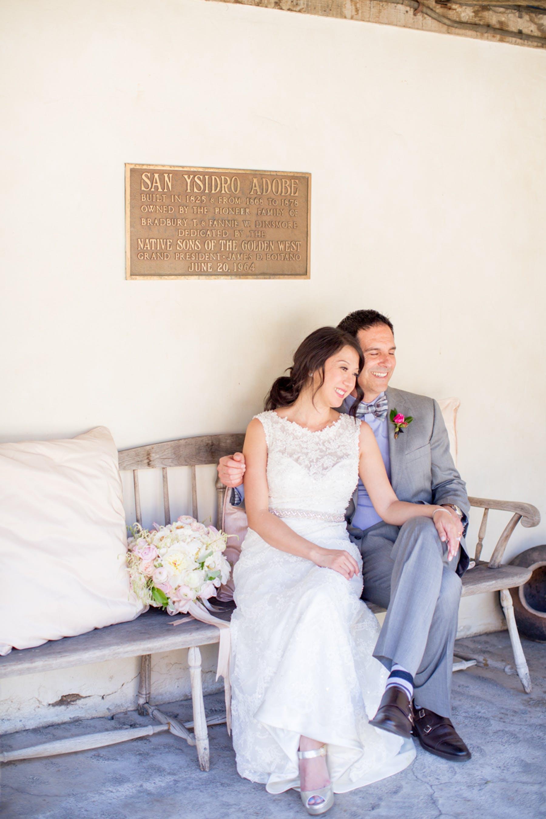 www.santabarbarawedding.com | Michael + Anna Costa Photography | San Ysidro Ranch | Twine Events | Coco Rose Design | Bride and Groom Before Ceremony