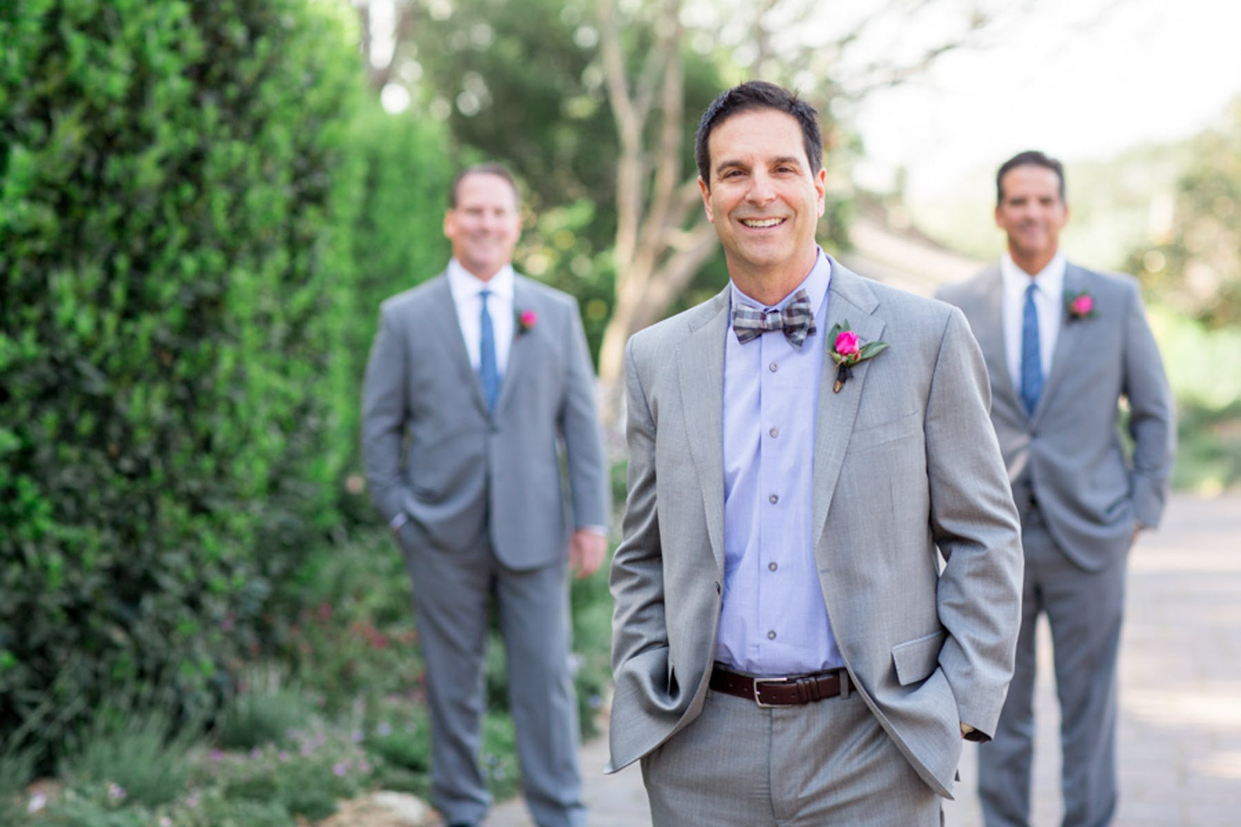 www.santabarbarawedding.com | Michael + Anna Costa Photography | San Ysidro Ranch | Twine Events | Brooks Brothers | Groom and Groomsmen