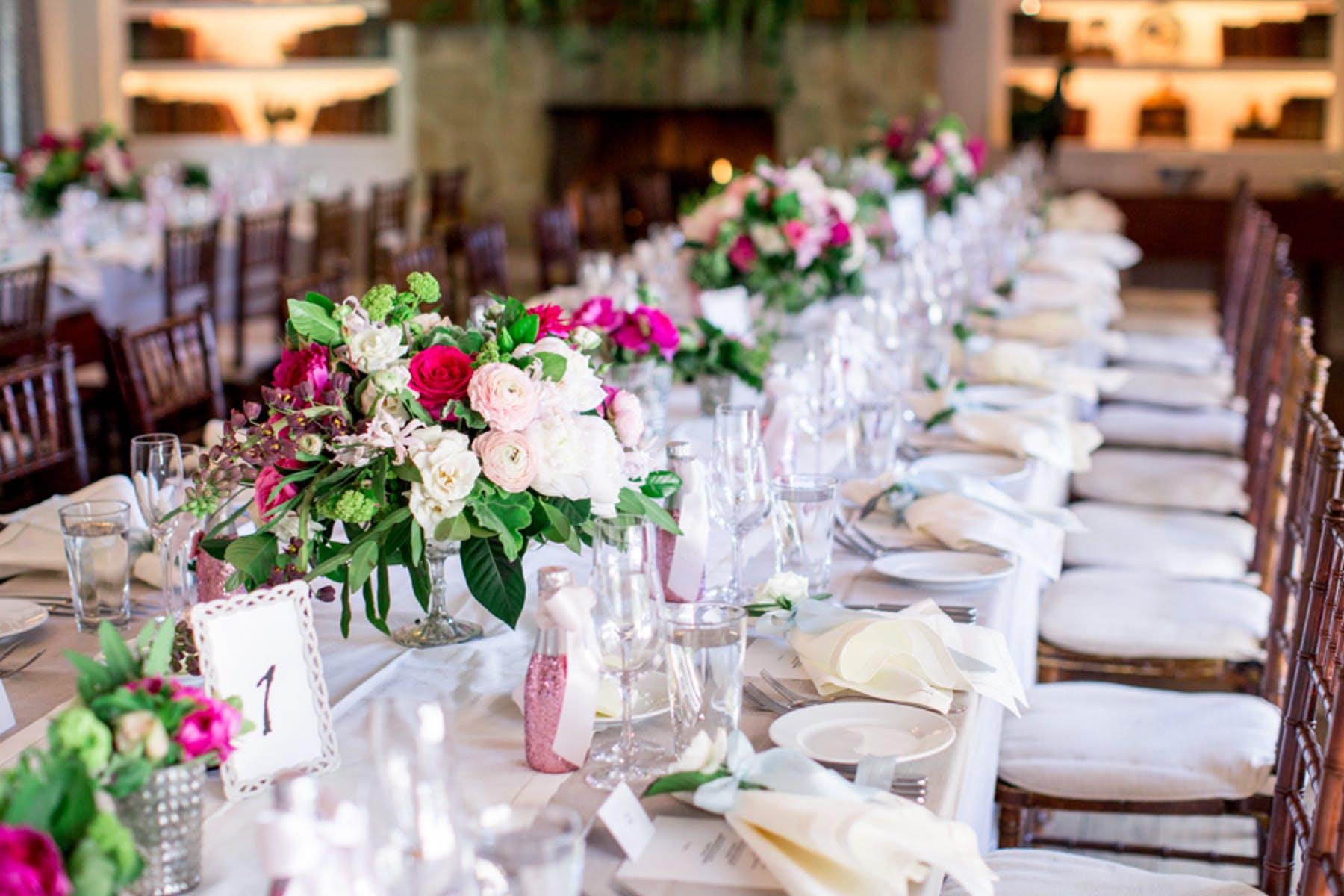 www.santabarbarawedding.com | Michael + Anna Costa Photography | San Ysidro Ranch | Twine Events | A Fabulous Fete | Reception Tables