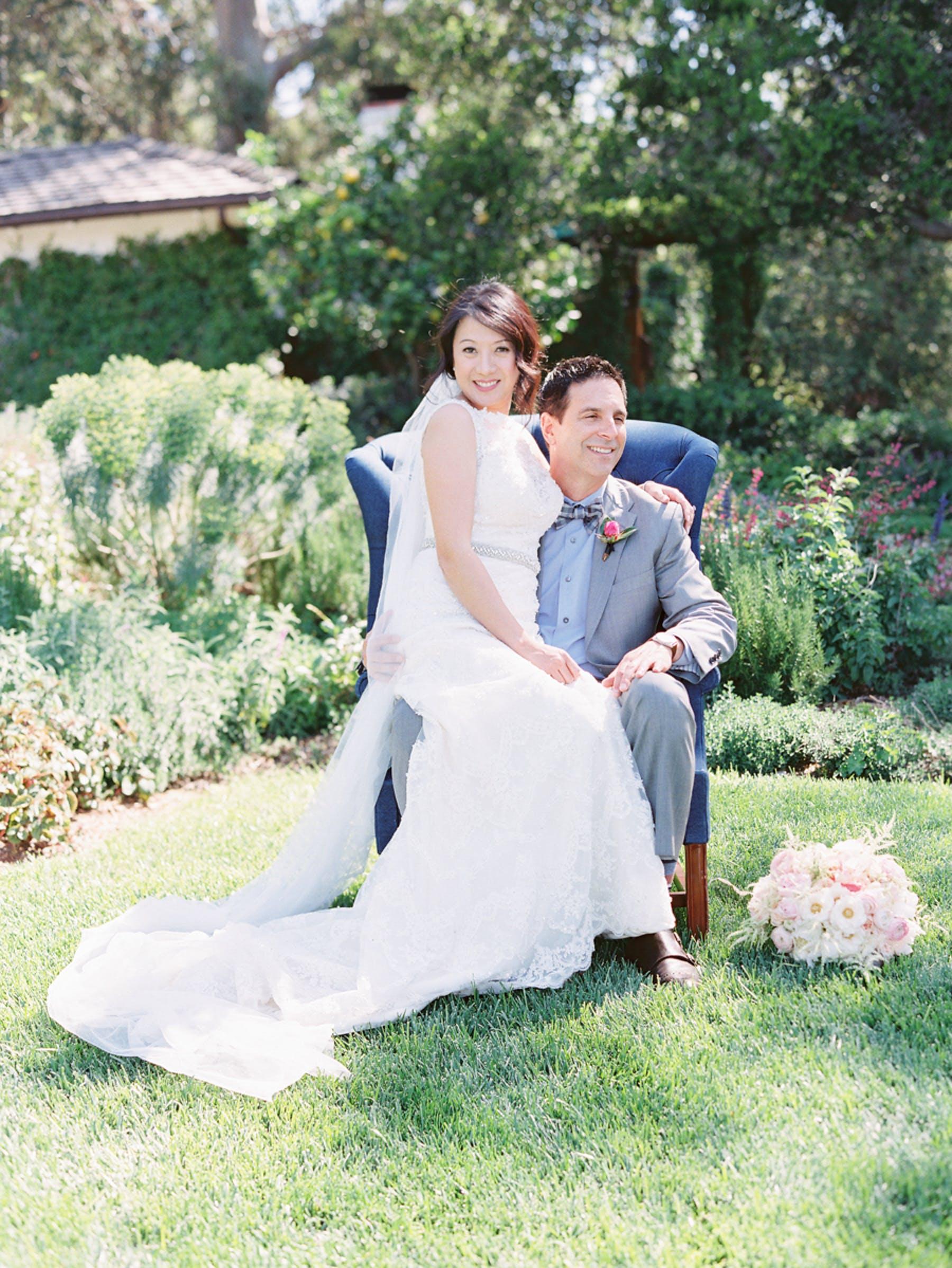 www.santabarbarawedding.com | Michael + Anna Costa Photography | San Ysidro Ranch | Twine Events | Maggie Sottero | Bride and Groom