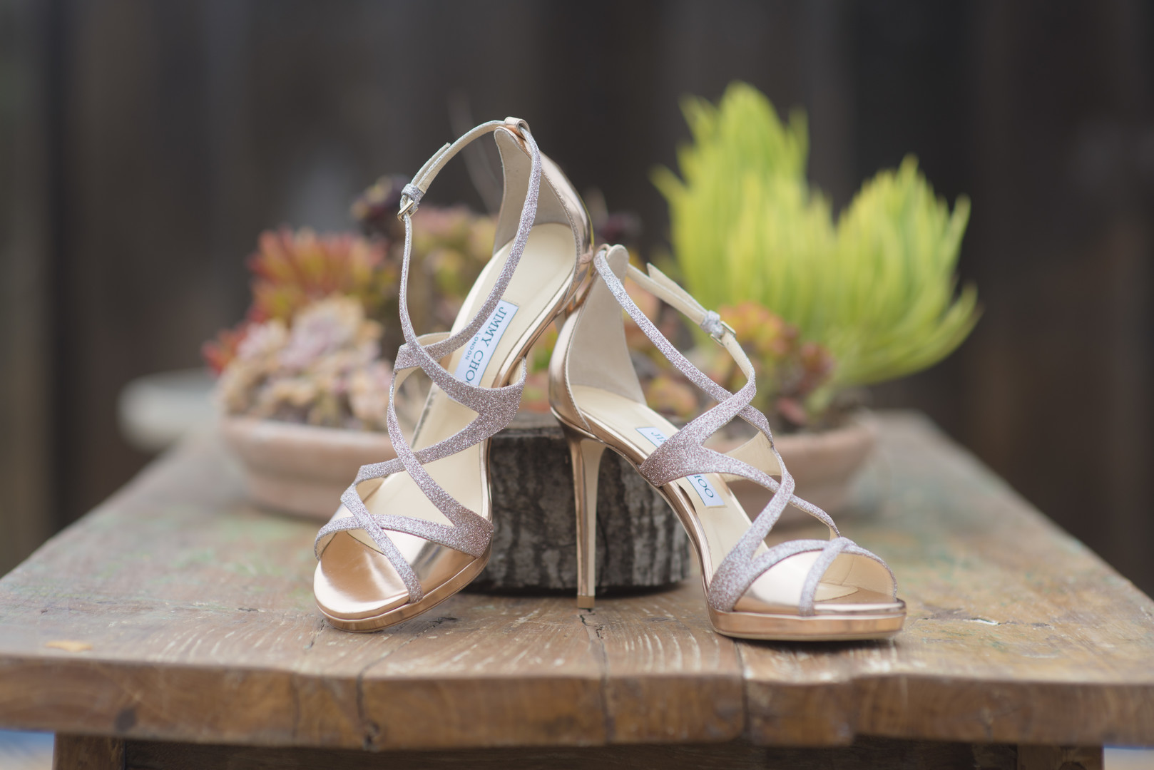 www.santabarbarawedding.com | Venue: Dos Pueblos Ranch | Photographer: ByCherry Photography | Event Designer: Elan Event Rentals | Bridal Heels