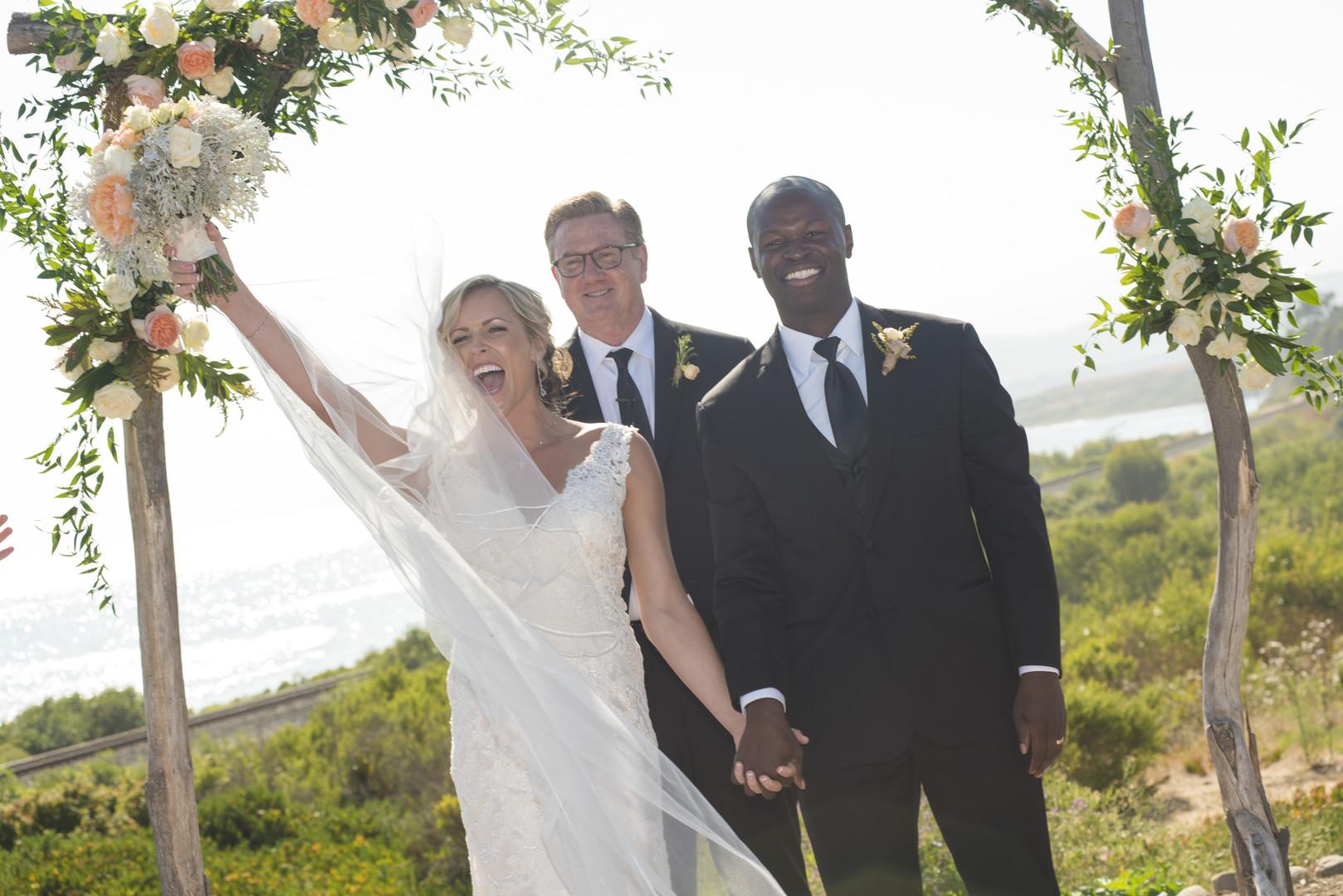 www.santabarbarawedding.com | Venue: Dos Pueblos Ranch | Photographer: ByCherry Photography | Event Designer: Elan Event Rentals | Florist: Tyler Speier | Wedding Ceremony - After the Vows