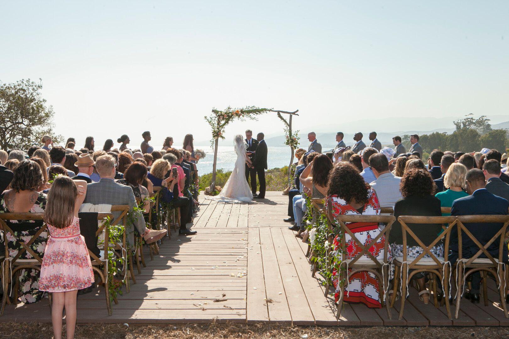 www.santabarbarawedding.com | Venue: Dos Pueblos Ranch | Photographer: ByCherry Photography | Event Designer: Elan Event Rentals | Florist: Tyler Speier | Wedding Ceremony