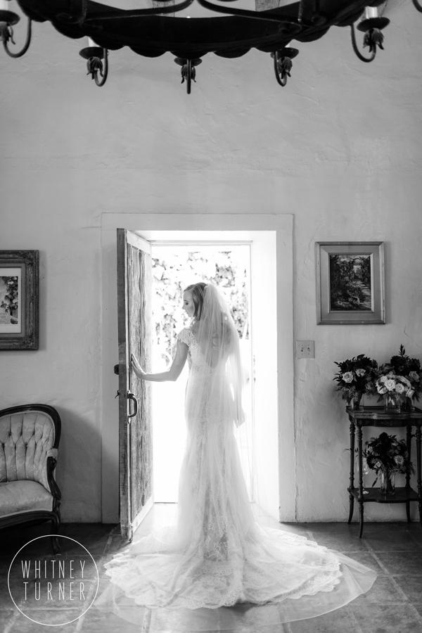 www.santabarbarawedding.com | Whitney Turner Photography | Santa Barbara Historical Museum | Immaginare Events | Bride Before Ceremony