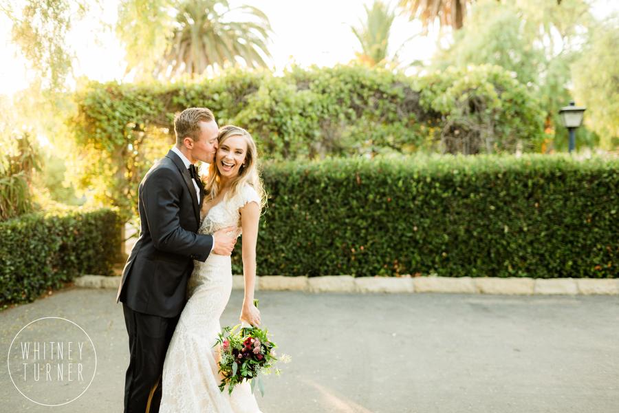 www.santabarbarawedding.com | Whitney Turner Photography | Santa Barbara Historical Museum | Immaginare Events | Cody Floral Design | Bride and Groom