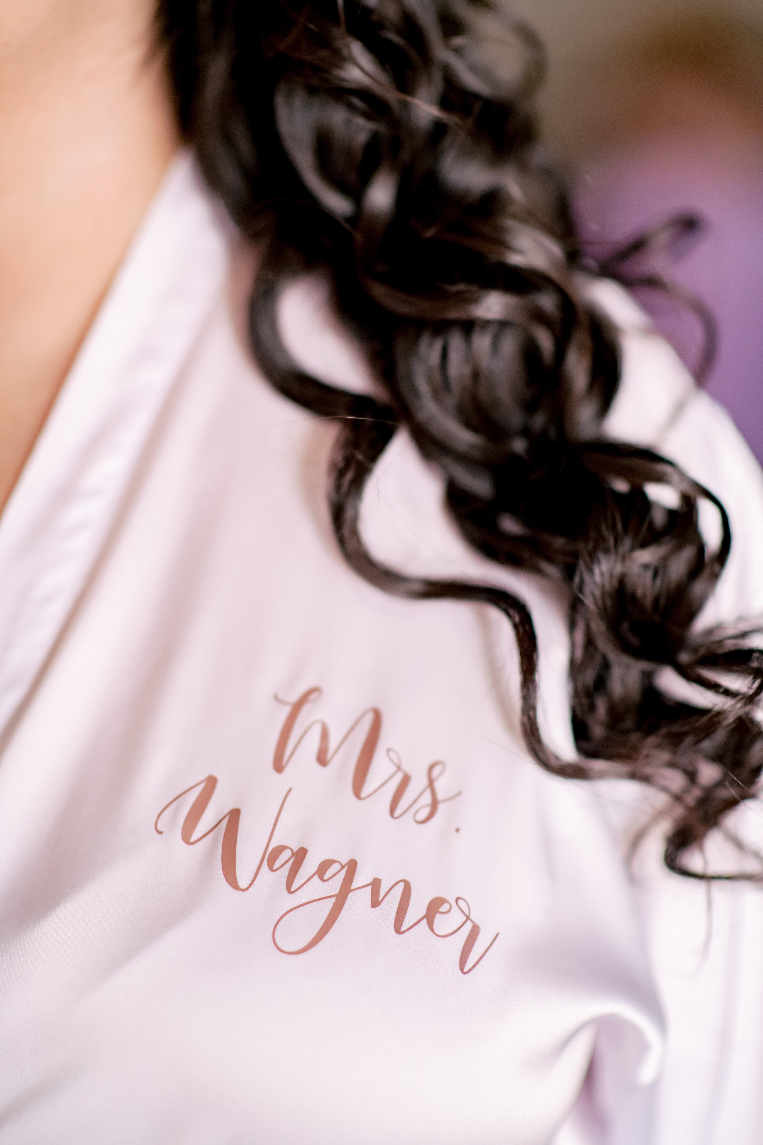 www.santabarbarawedding.com | Rewind Photography | Rockwood Women's Club | Burlap & Bordeaux | Kiss the Bride | Bride's Custom Robe