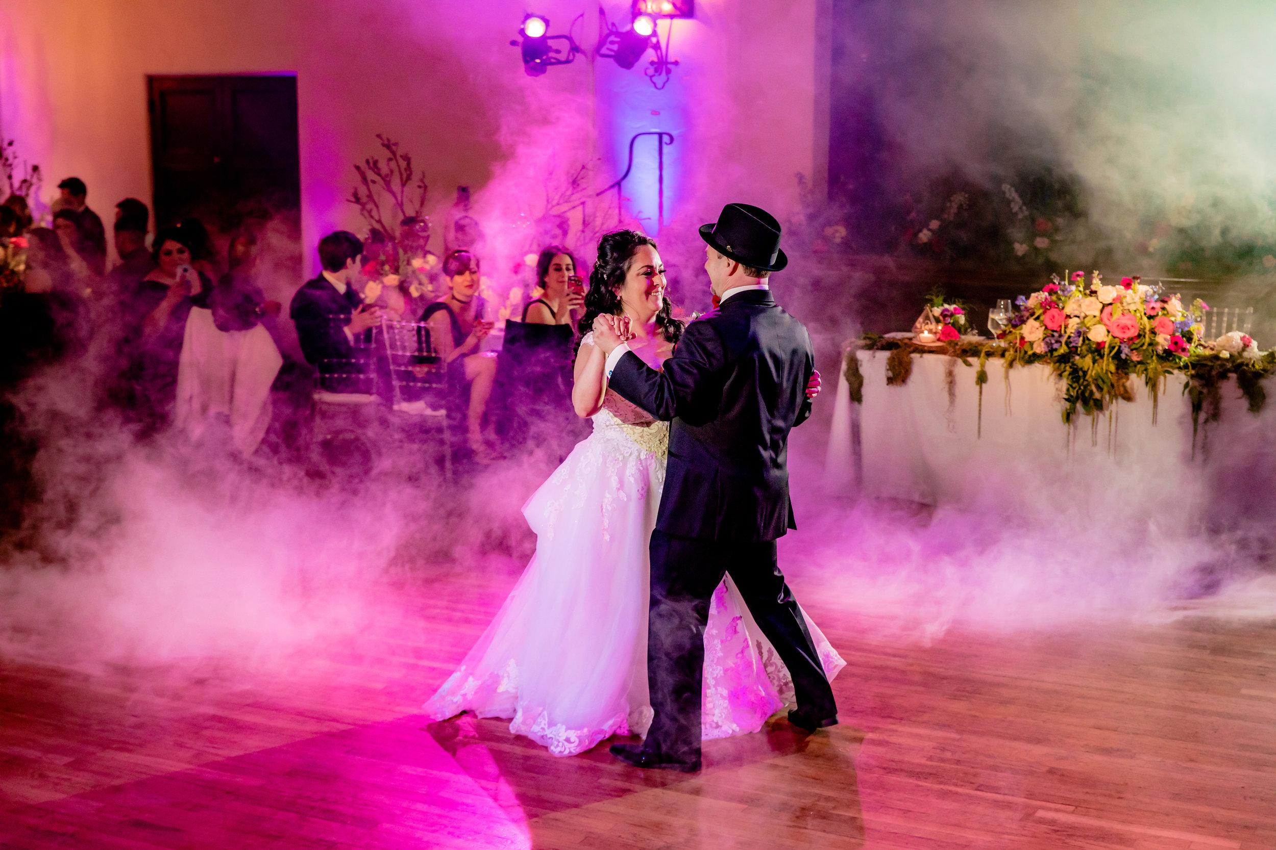 www.santabarbarawedding.com | Rewind Photography | Rockwood Women's Club | Burlap & Bordeaux | DJ Zeke SB | Bride and Groom First Dance