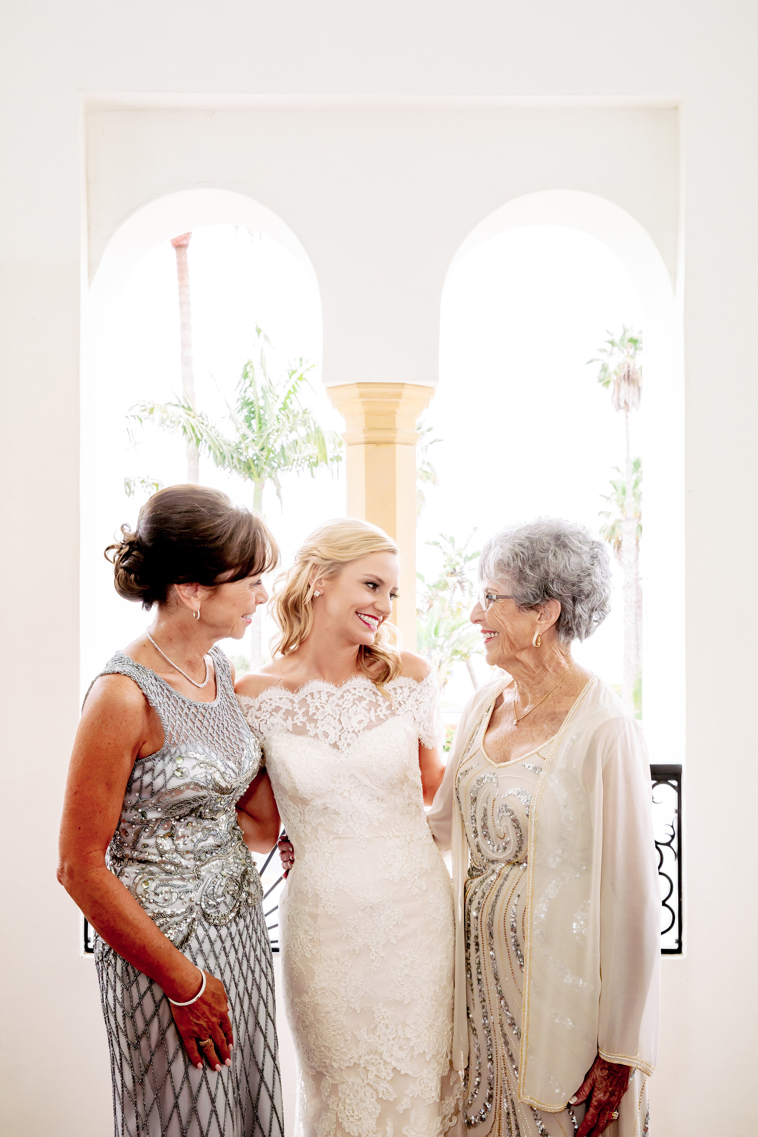 www.santabarbarawedding.com | Rewind Photography | Santa Barbara Historical Museum | Events by M & M | The Santa Barbara Inn | Mother and Grandmother of the Bride