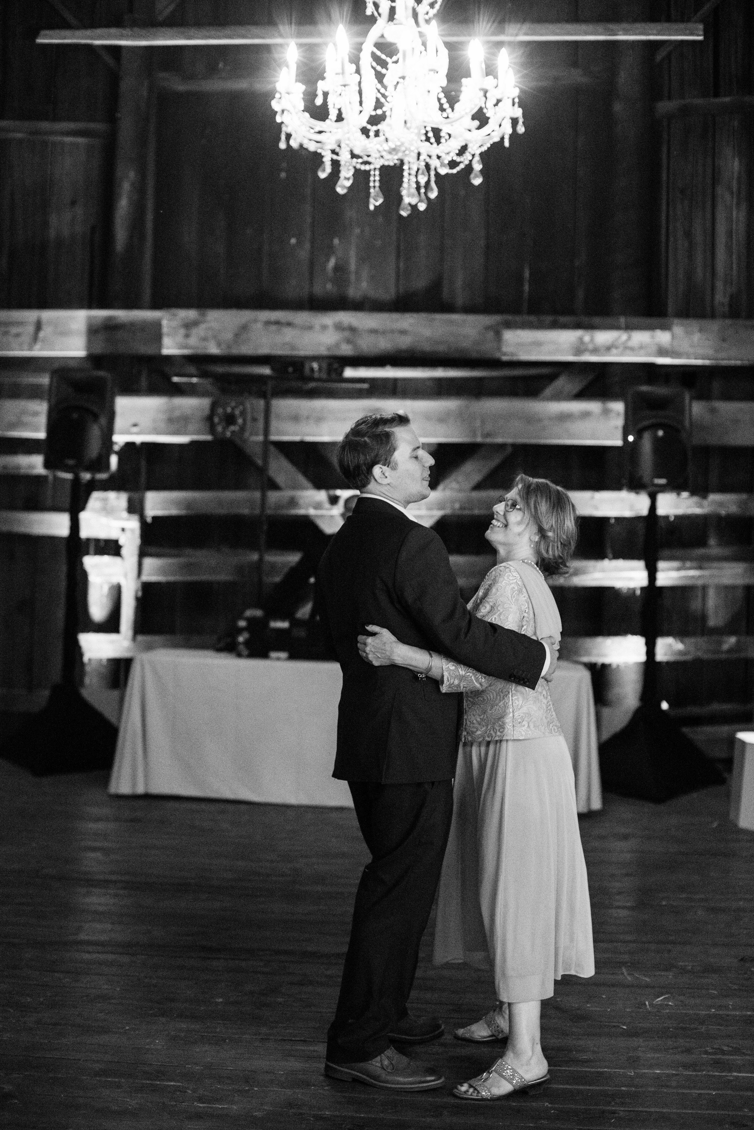 www.santabarbarawedding.com | ByCherry Photography | Gainey Vineyard | Revele Unlimited | SPARK Creative Events | Groom Dances with Mother