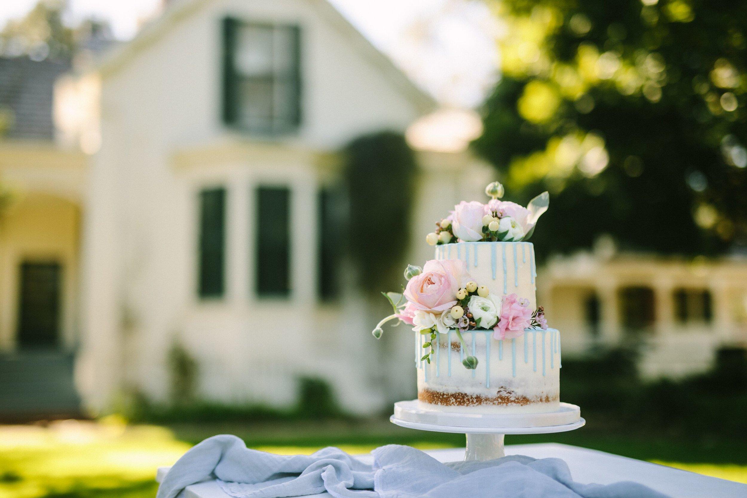 www.santabarbarawedding.com | Photographer: Patrick Ang | Venue: Rancho La Patera & Stow House | Wedding Planner: Elyse Rowen of Elyse Events | Wedding Cake