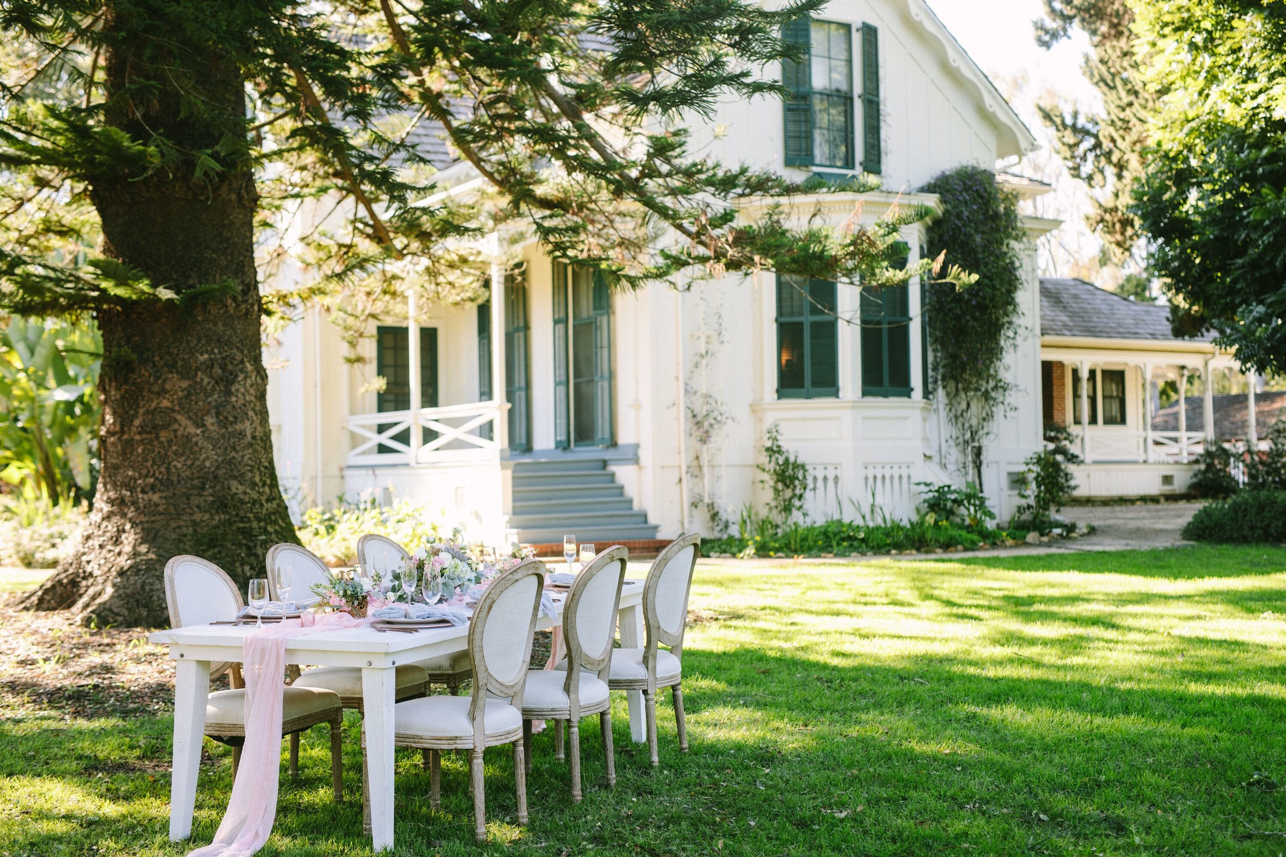 www.santabarbarawedding.com | Photographer: Patrick Ang | Venue: Rancho La Patera & Stow House | Wedding Planner: Elyse Rowen of Elyse Events | Reception Site