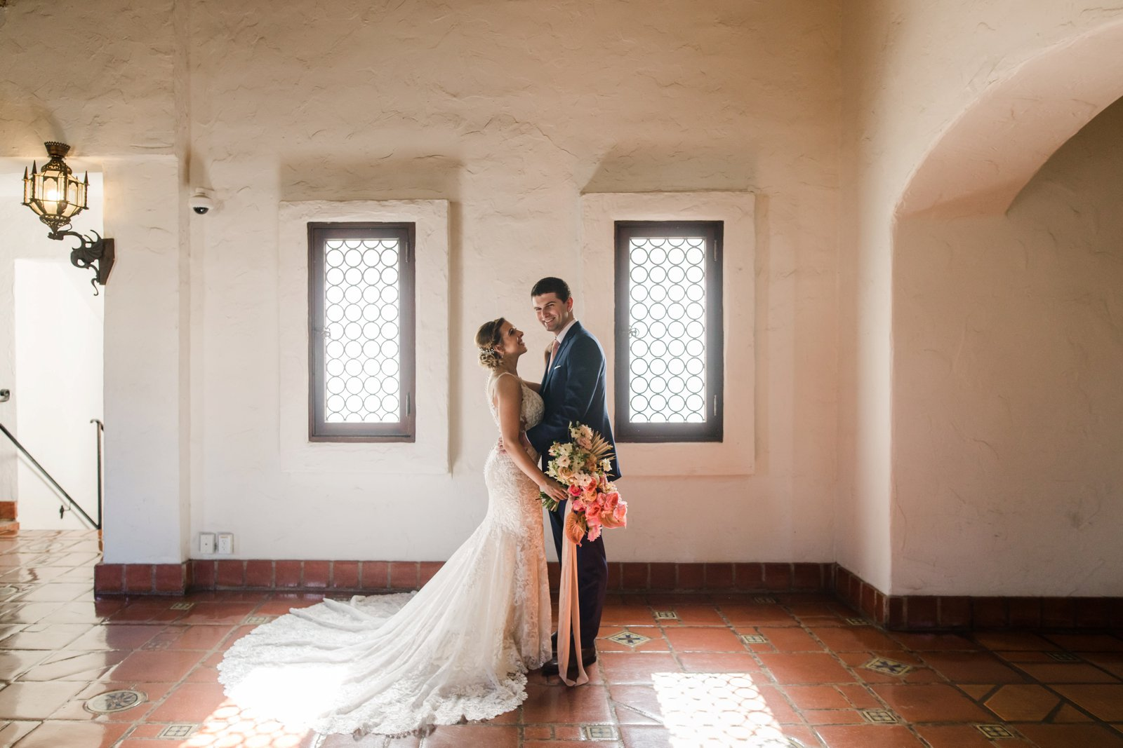 www.santabarbarawedding.com | Anna Delores Photography | Kimpton Canary Hotel | Onyx + Redwood | Martina Liana Bridal | The Couple Share a Moment