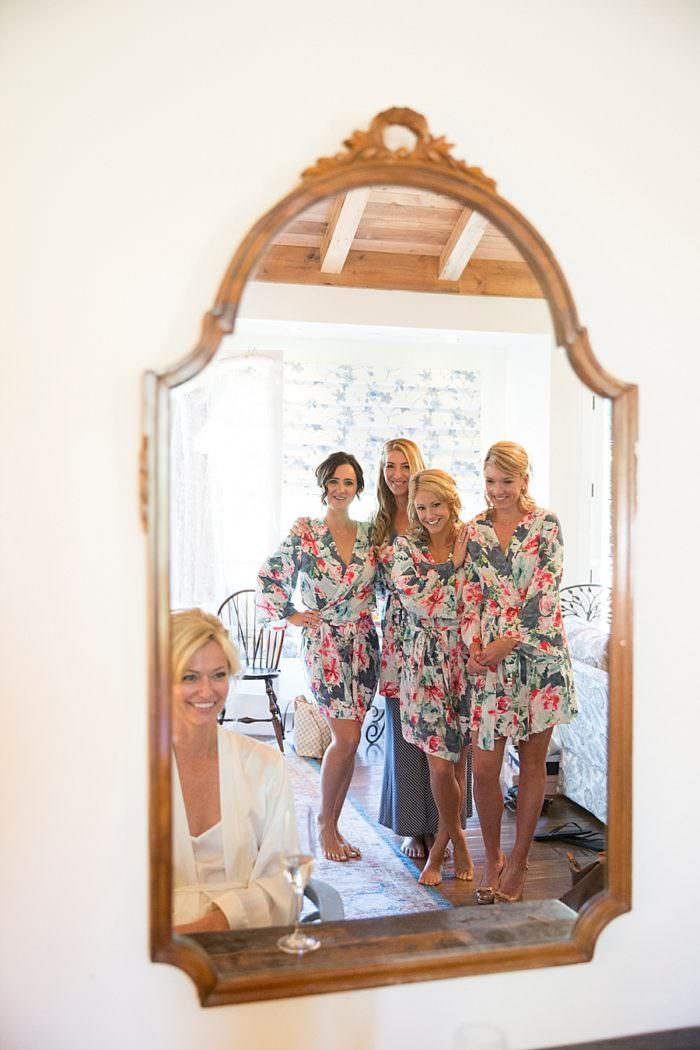 www.santabarbarawedding.com | Kristen Beinke | San Ysidro Ranch | Alexandra Kolendrianos | Mishay Salon | Shine Blow Dry Bar Montecito | Bride and Bridesmaids Get Ready