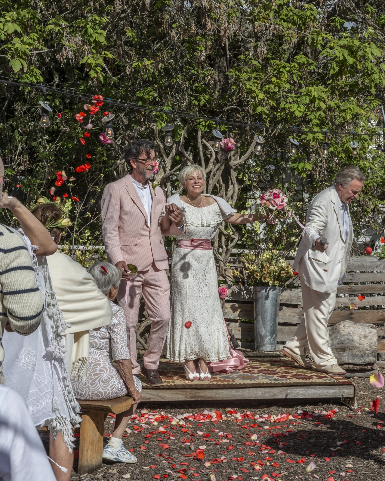 www.santabarbaraweddings.com | Jeffrey Bloom Photography | Full of Life Flatbread | Outdoor Wedding Ceremony