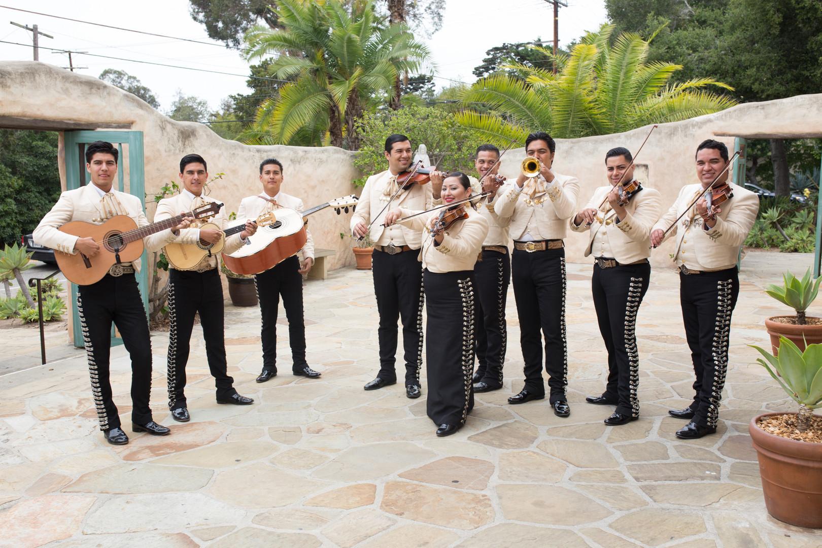 www.santabarbarawedding.com   The Big Affair   Our Lady of Mount Carmel   Mariachi Band