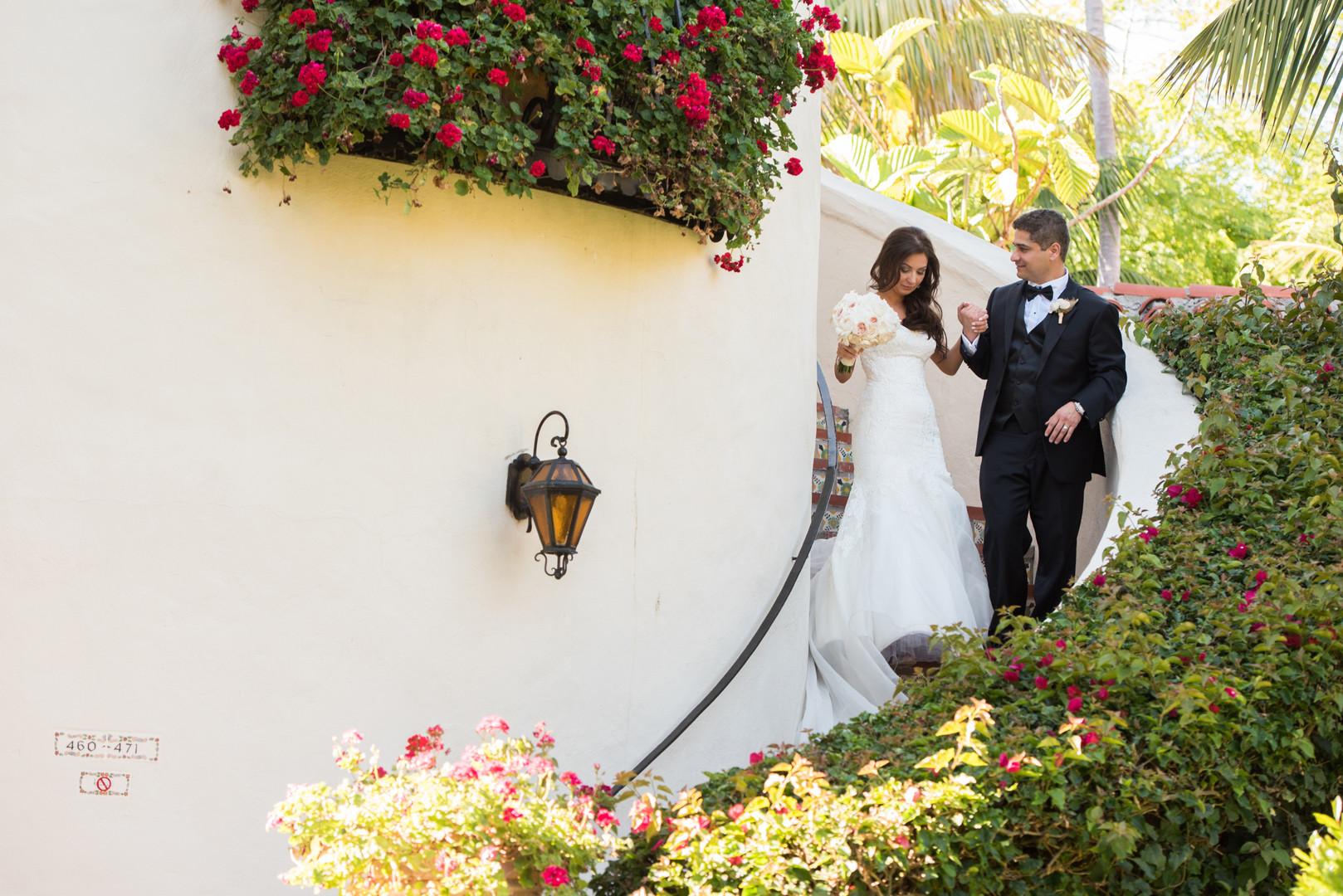 www.santabarbarawedding.com   The Big Affair   Four Seasons The Biltmore Santa Barbara   Asiel Designs   Bride and Groom