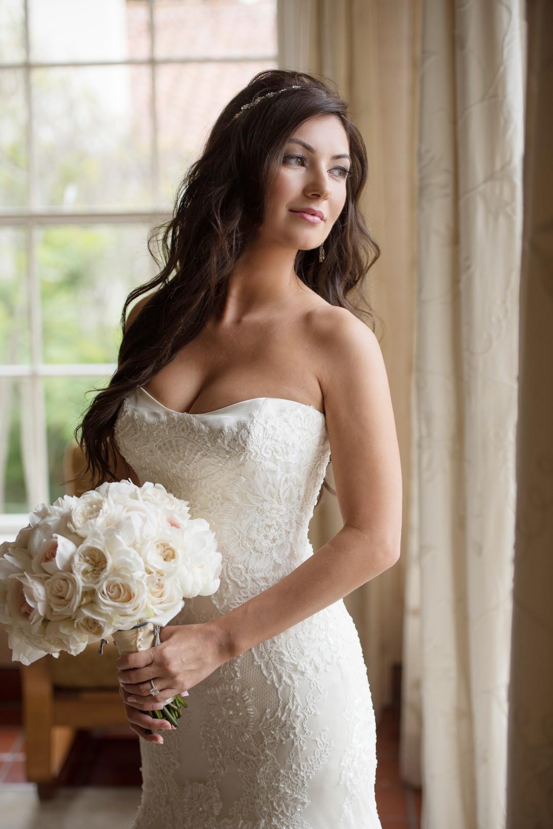 www.santabarbarawedding.com   The Big Affair   Four Seasons The Biltmore Santa Barbara   Asiel Designs   Bridal Portrait