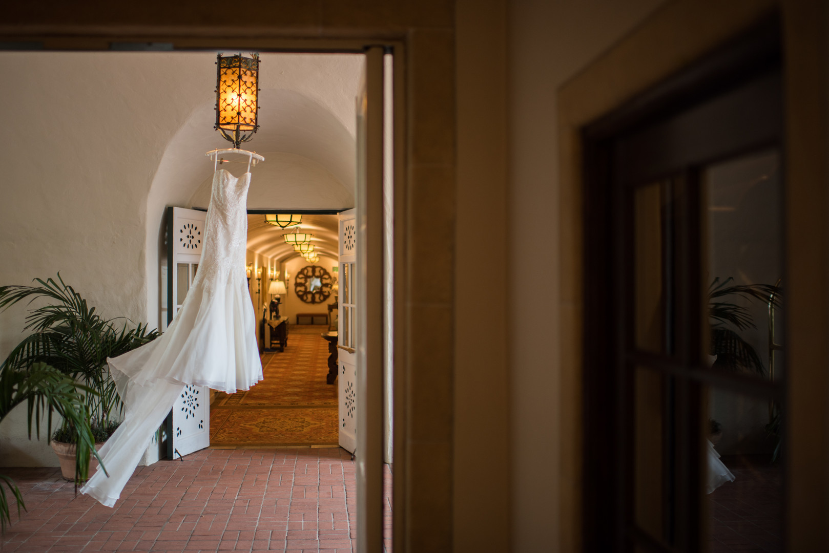 www.santabarbarawedding.com   The Big Affair   Four Seasons The Biltmore Santa Barbara   Wedding Dress