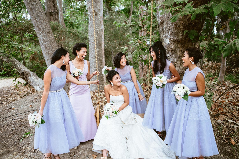 www.santabarbarawedding.com | The Gathering Season | Dos Pueblos Ranch | Joelle Charming | Twig & Twine | Bride and Bridesmaids