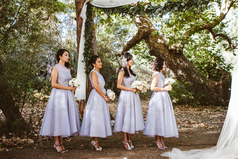 www.santabarbarawedding.com | The Gathering Season | Dos Pueblos Ranch | Joelle Charming | Twig & Twine | Bridesmaids