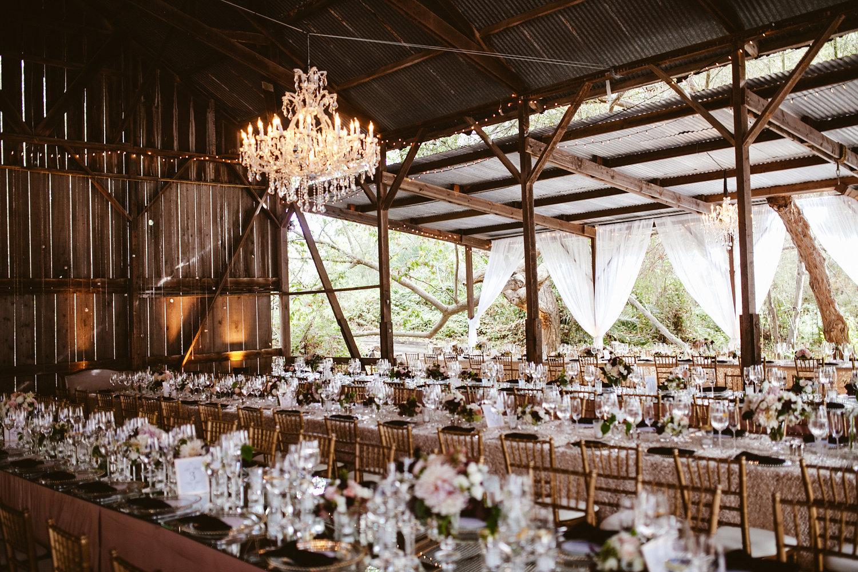 www.santabarbarawedding.com | The Gathering Season | Dos Pueblos Ranch | Joelle Charming | Twig & Twine | Town and Country | La Tavola | Wedding Reception Table Setting