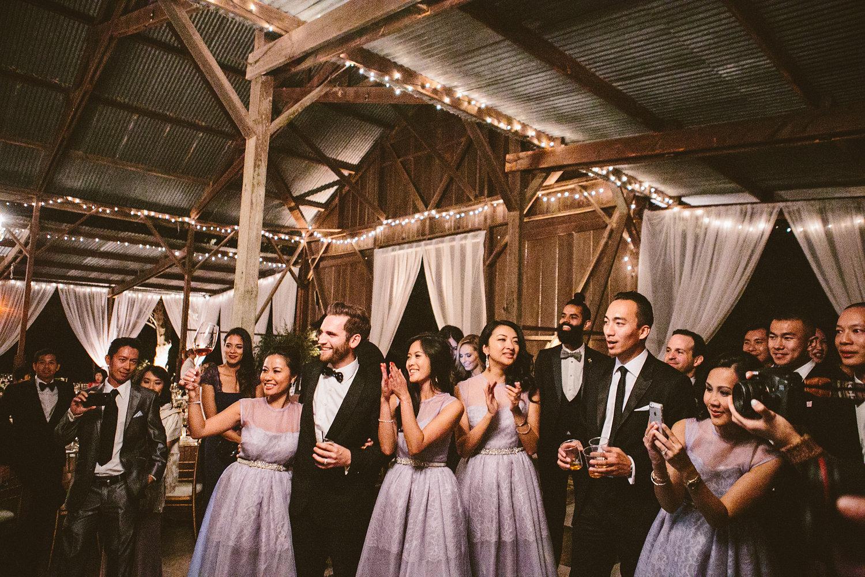 www.santabarbarawedding.com | The Gathering Season | Dos Pueblos Ranch | Joelle Charming | Wedding Party