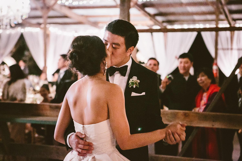 www.santabarbarawedding.com | The Gathering Season | Dos Pueblos Ranch | Joelle Charming | Bride and Groom First Dance