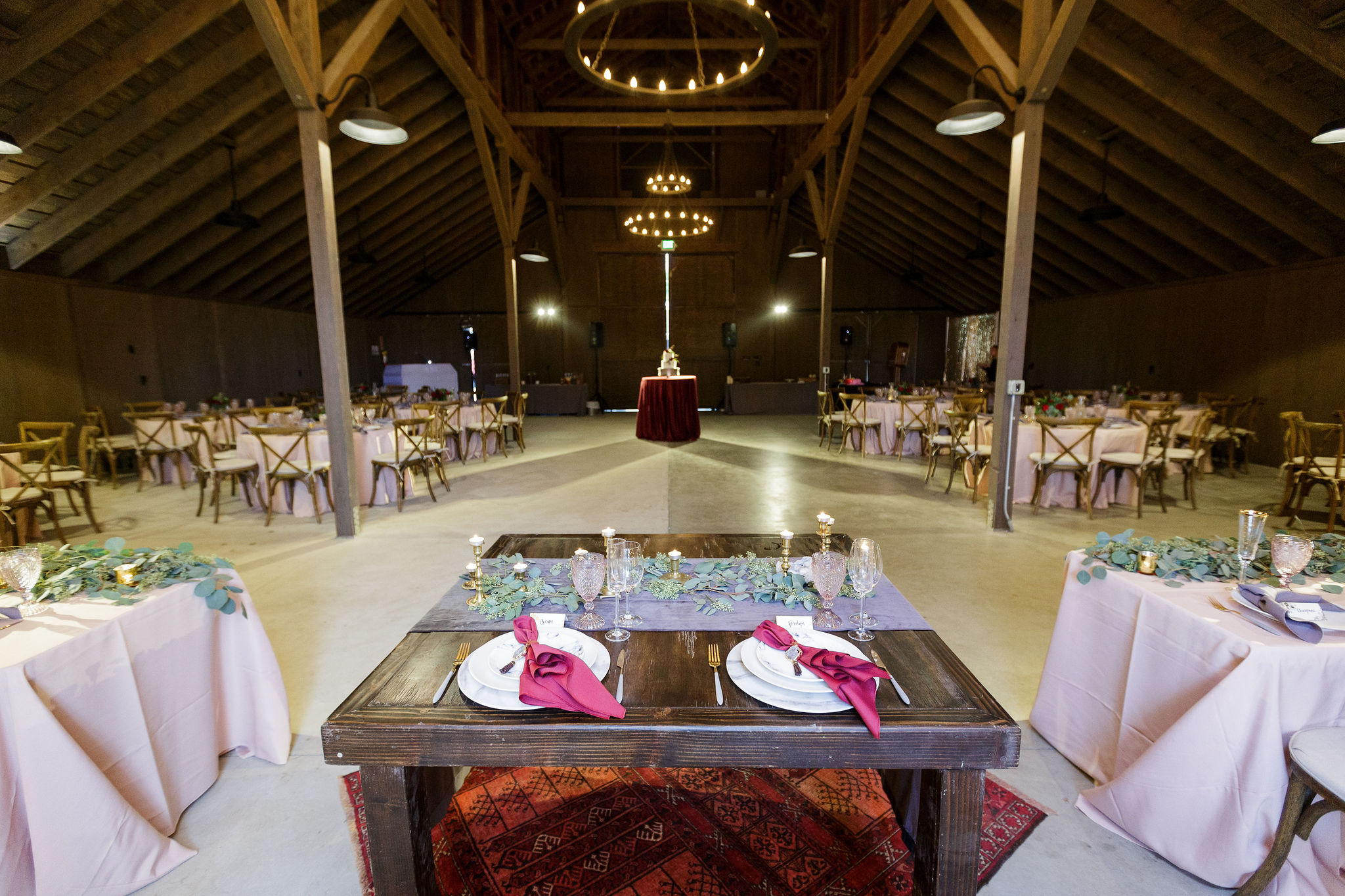 www.santabarbarawedding.com | Kiel Rucker | Greengate Ranch | Kramer Events | All About Events | Dinner Set Up