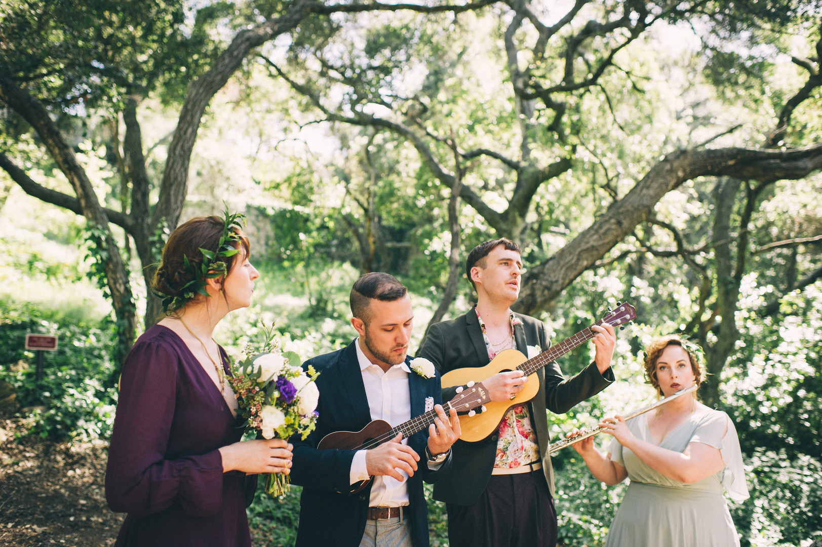 www.santabarbarawedding.com | Sarah Katherine Davis Photography | Santa Barbara Museum of Natural History | Wild Heart Events | Ella and Louie | Ceremony Music