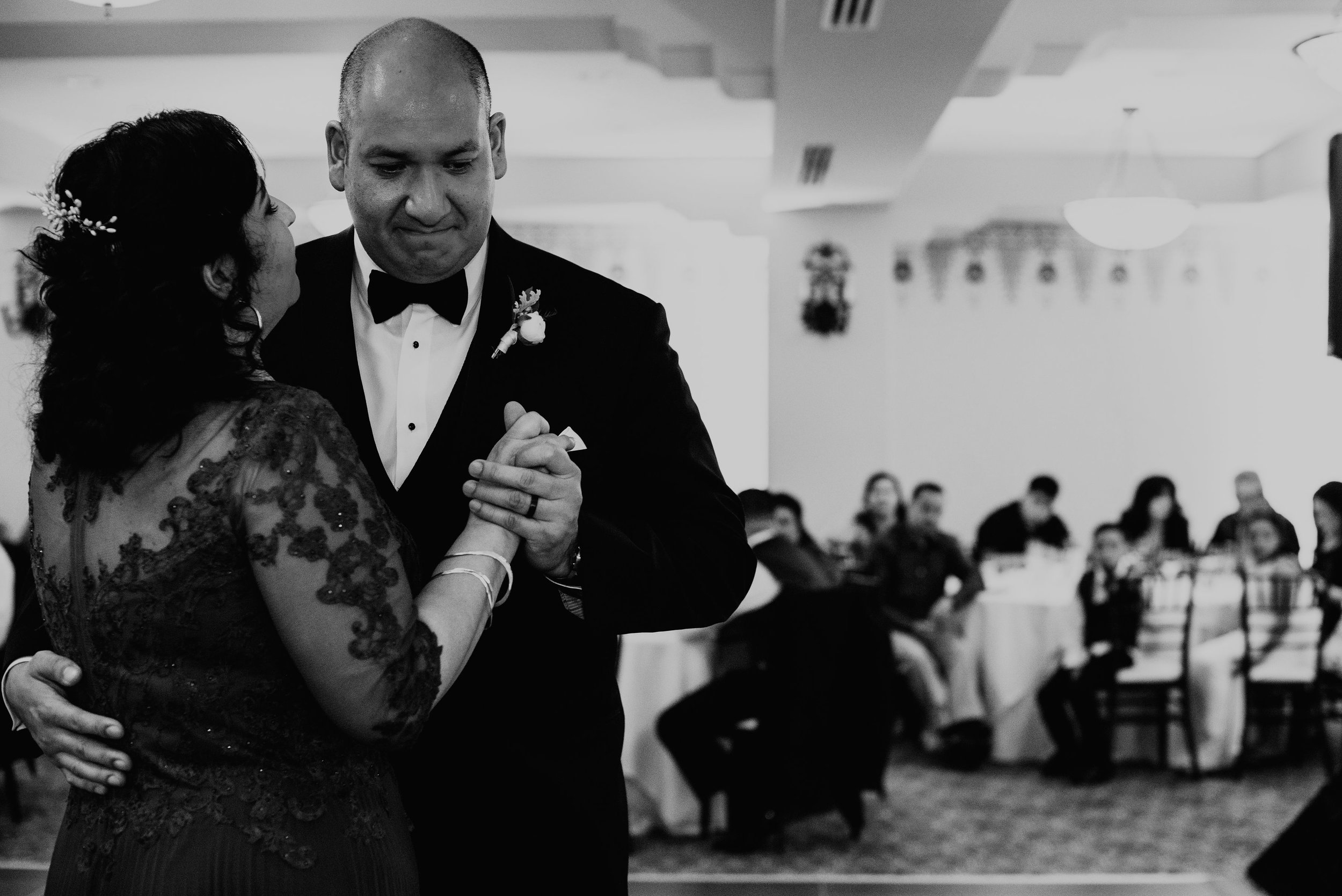 www.santabarbarawedding.com | SefraKay Photography | Kimpton Canary Hotel | Alexis Ireland | DJ Erik Redmond | Groom Shares Dance with Mother