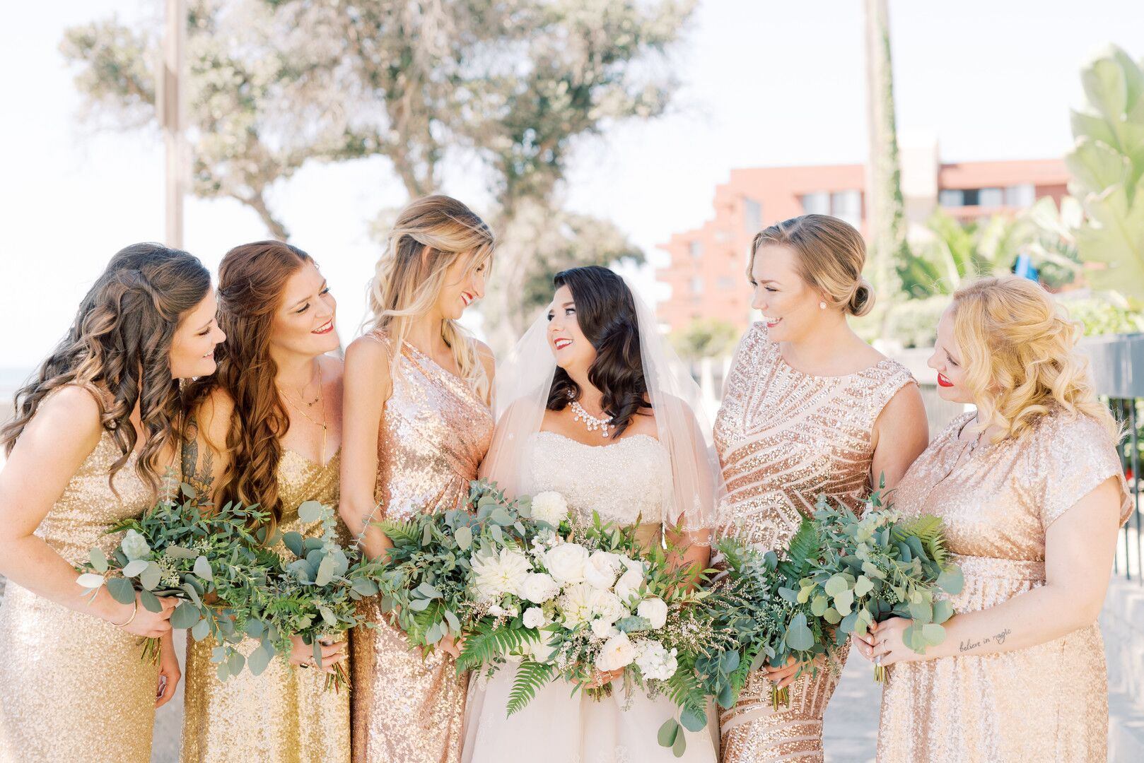 wwww.santabarbawedding.com | Planner: Vintage Heart Events | Ceremony Venue: Serra Cross Park | Photographer: Haley Richter Photography | Bridal Party