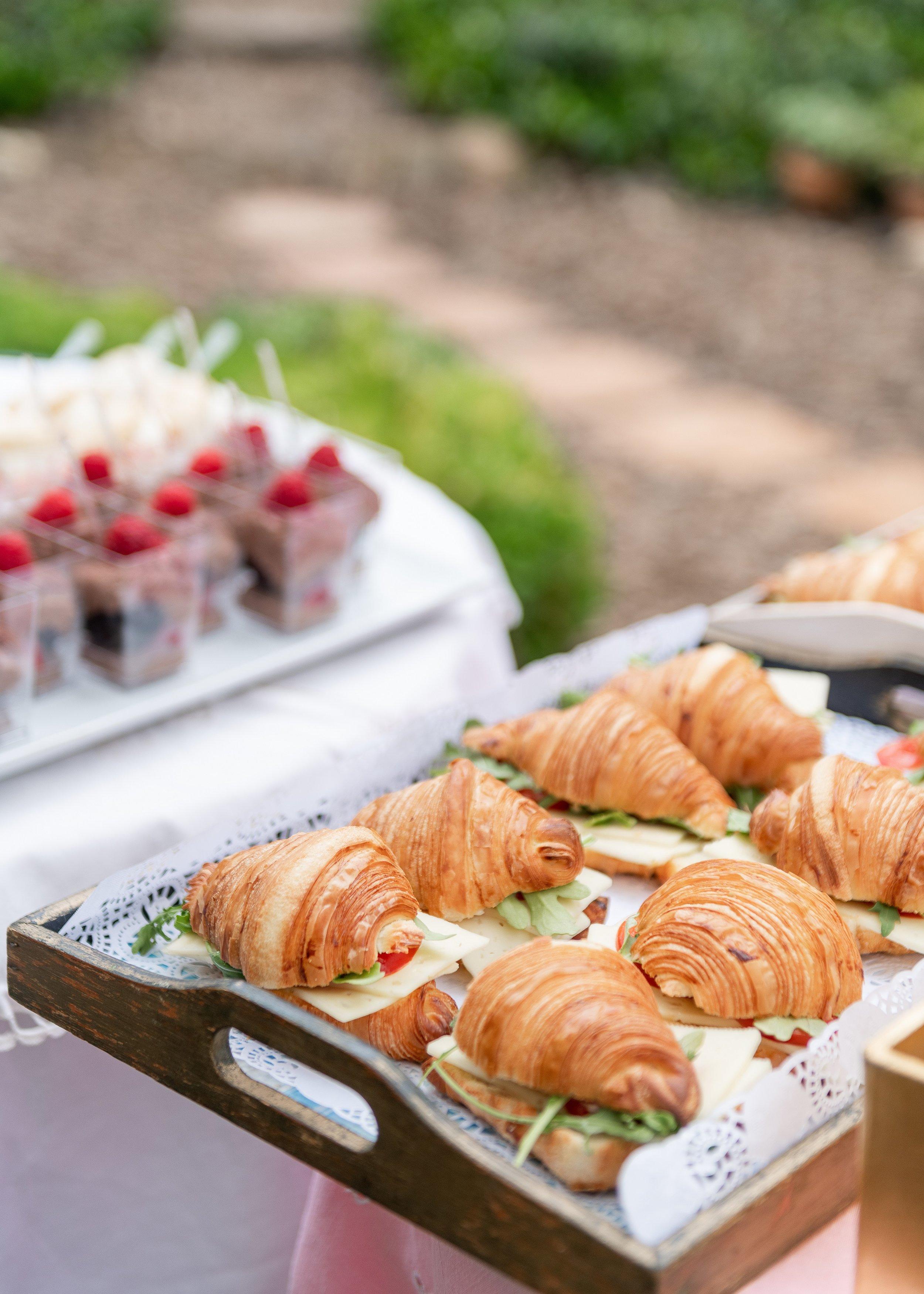 www.santabarbarawedding.com | Willa Kveta Photography | Santa Barbara Classic Weddings | Officiant Event | Sandwiches