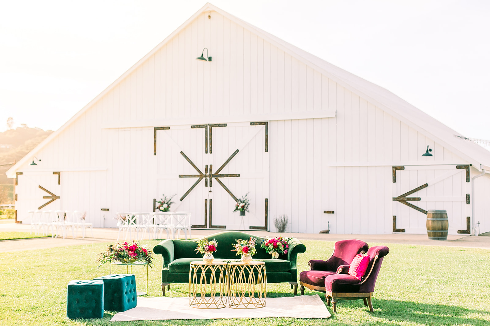 www.santabarbarawedding.com | The White Barn | Location Spotlight | Kelley Williams Photography