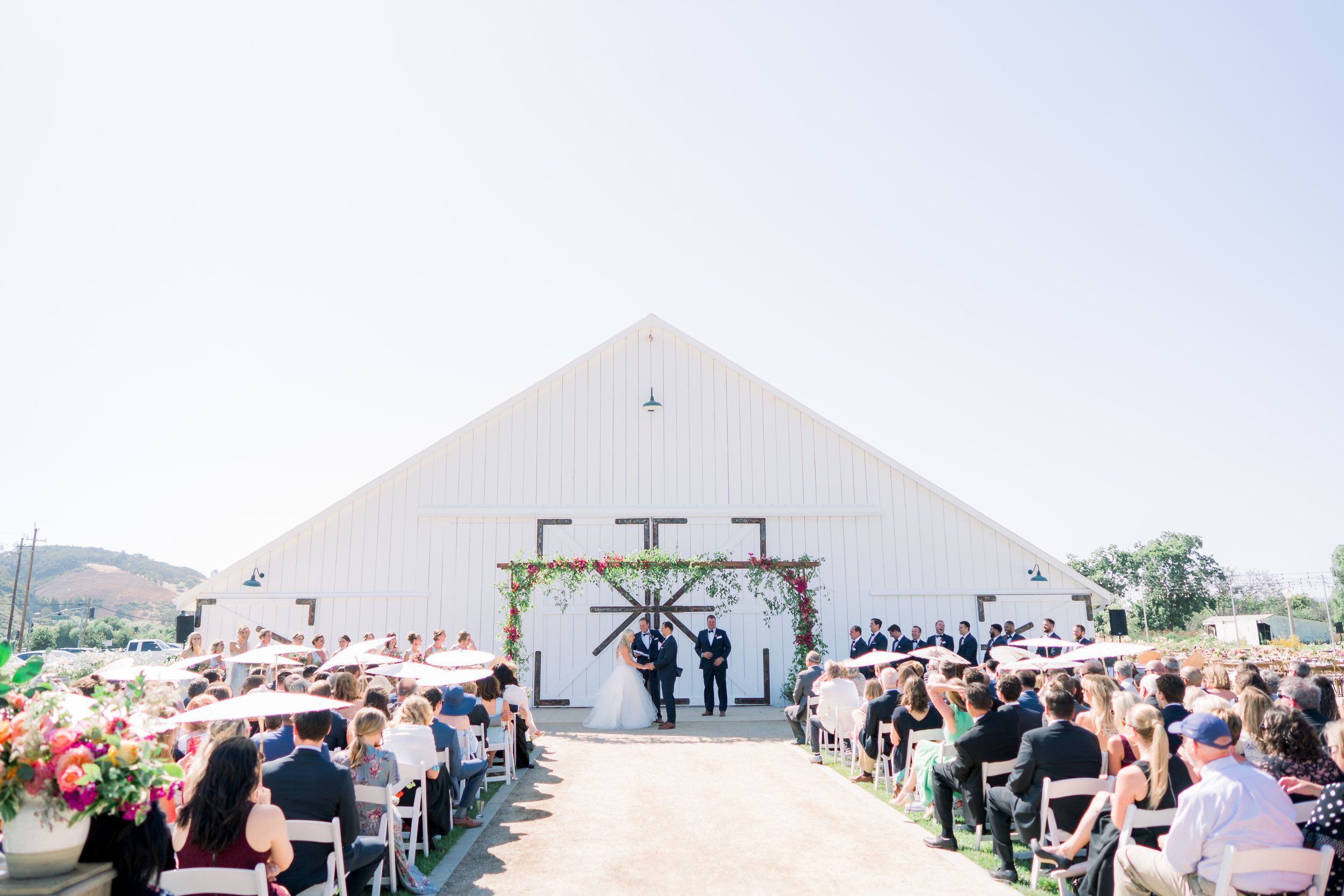 www.santabarbarawedding.com | The White Barn | Location Spotlight | We Heart Studio Photography