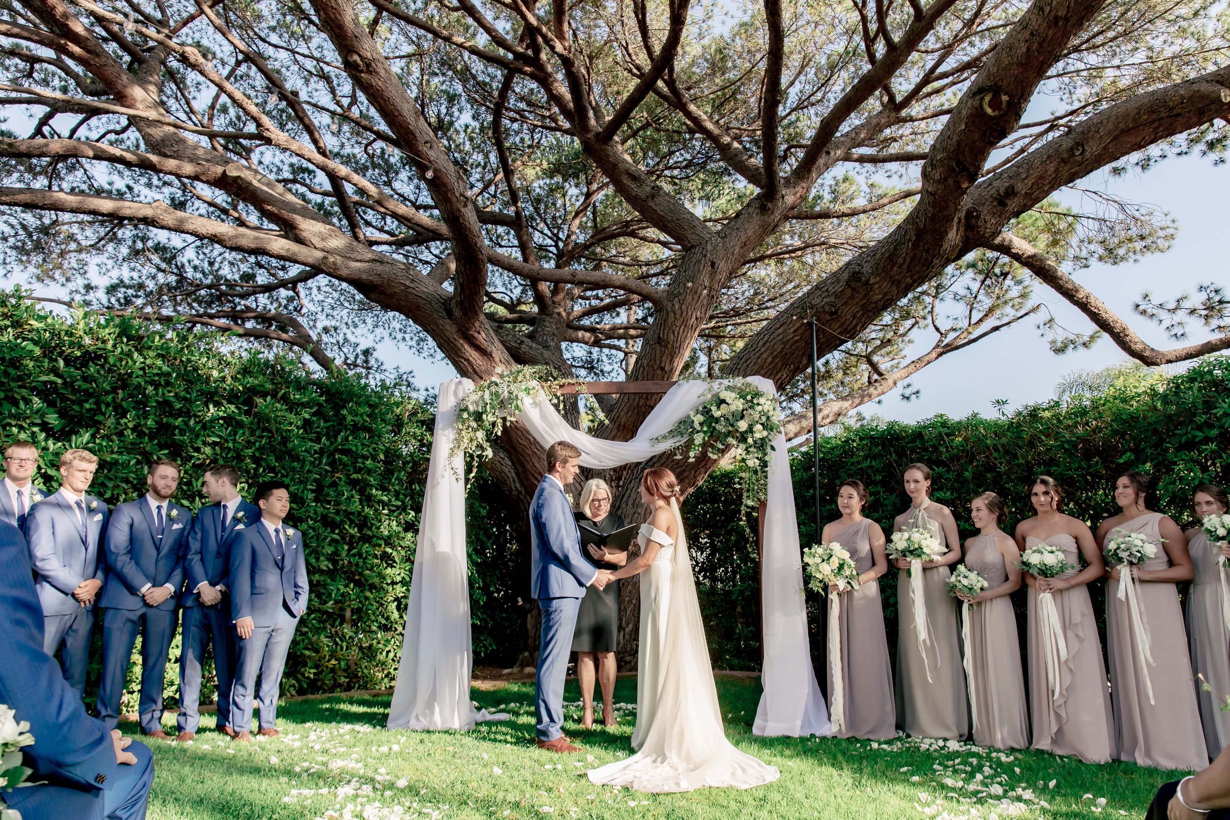www.santabarbarawedding.com | Rewind Photography | Riviera Mansion | Alegria by Design | Margaret Joan Florals | Ceremonies by Nanette | The Ceremony