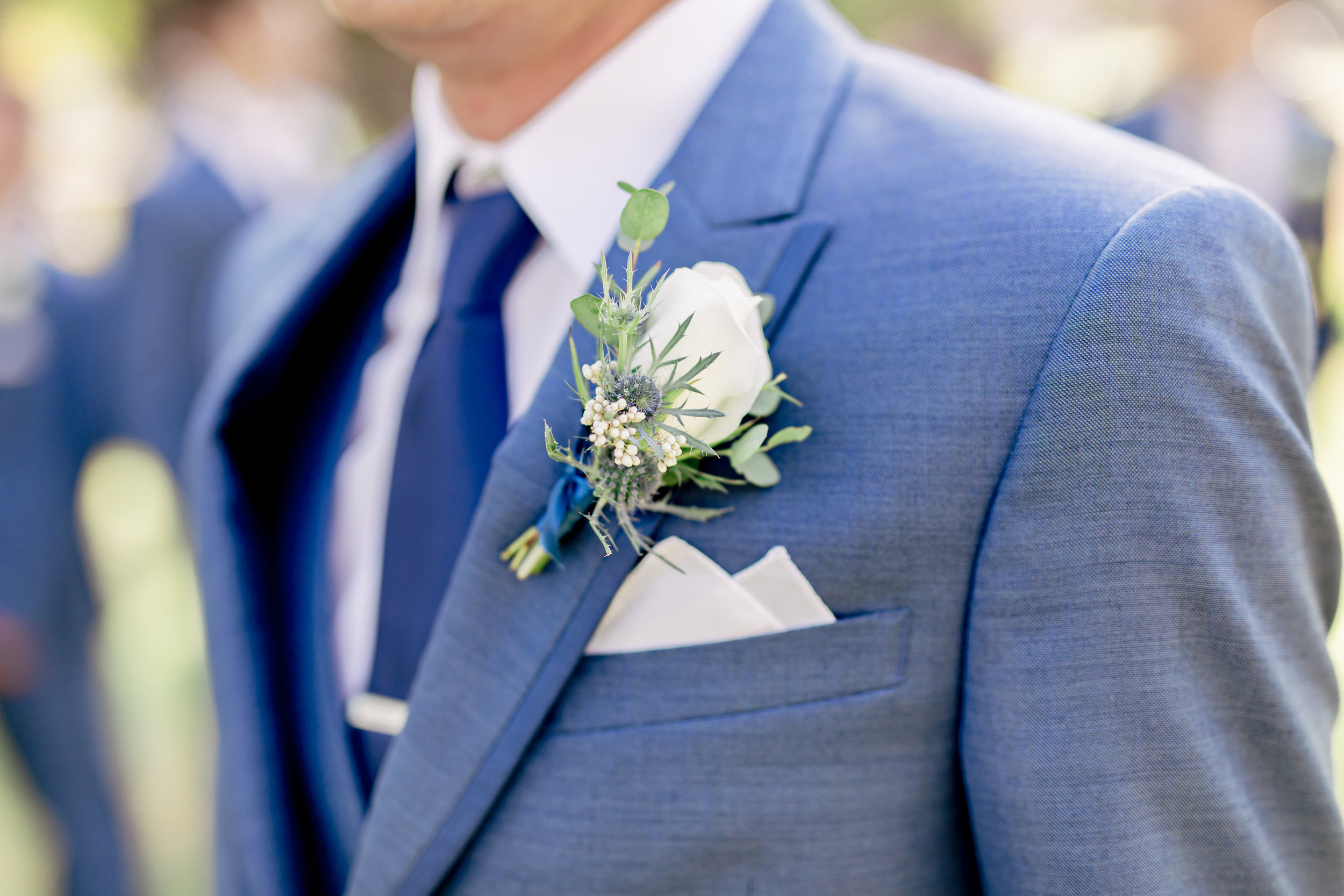 www.santabarbarawedding.com | Rewind Photography | Riviera Mansion | Alegria by Design | Margaret Joan Florals | Grooms Boutonniere