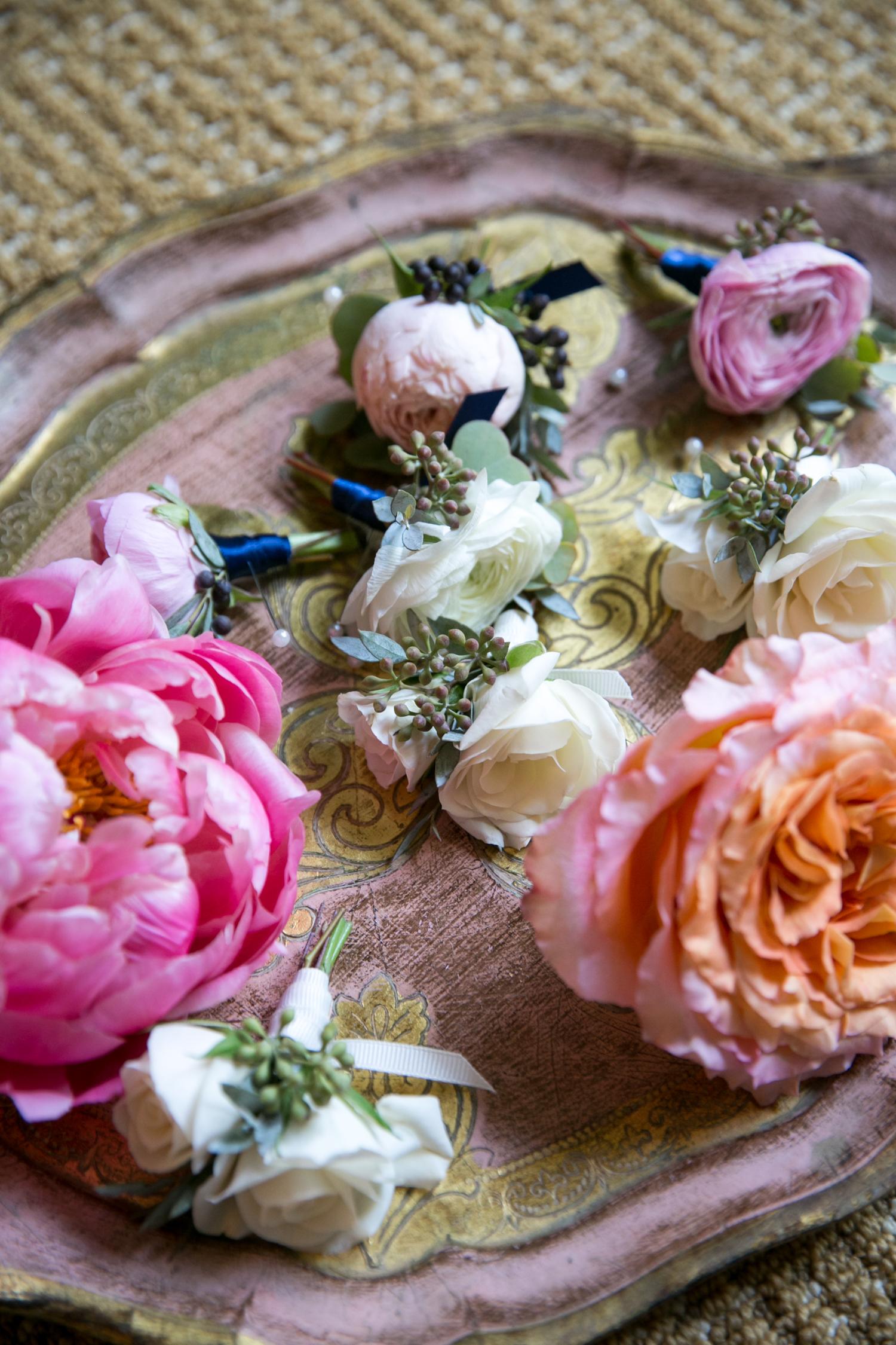www.santabarbarawedding.com | Miki & Sonja Photography | Four Seasons Resort The Biltmore | Imagine Weddings & Special Events | Rockrose Floral Design | Boutonnieres