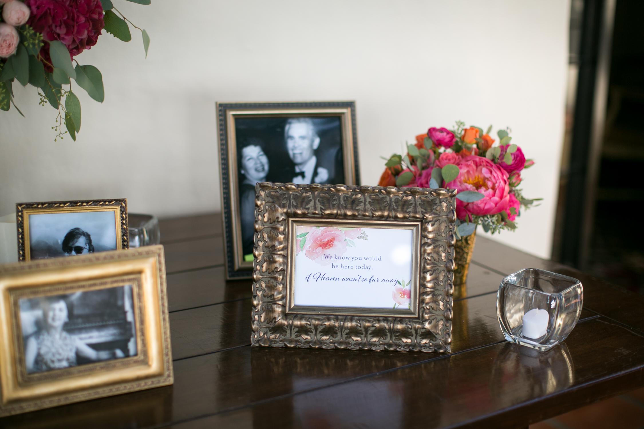 www.santabarbarawedding.com | Miki & Sonja Photography | Four Seasons Resort The Biltmore | Imagine Weddings & Special Events | Rockrose Floral Design | Memory Table