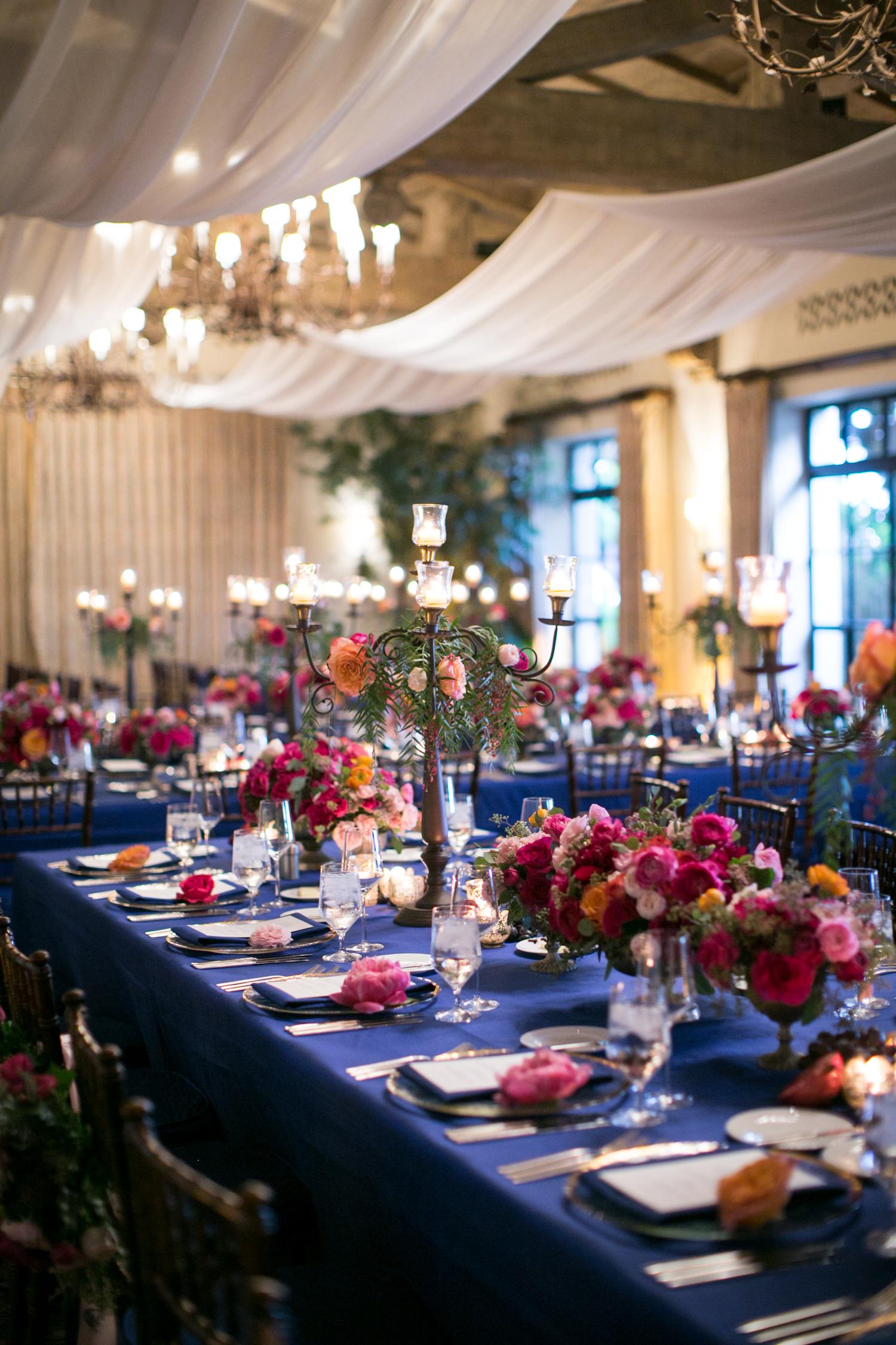 www.santabarbarawedding.com | Miki & Sonja Photography | Four Seasons Resort The Biltmore | Imagine Weddings & Special Events | La Tavola Linens | Reception Tables
