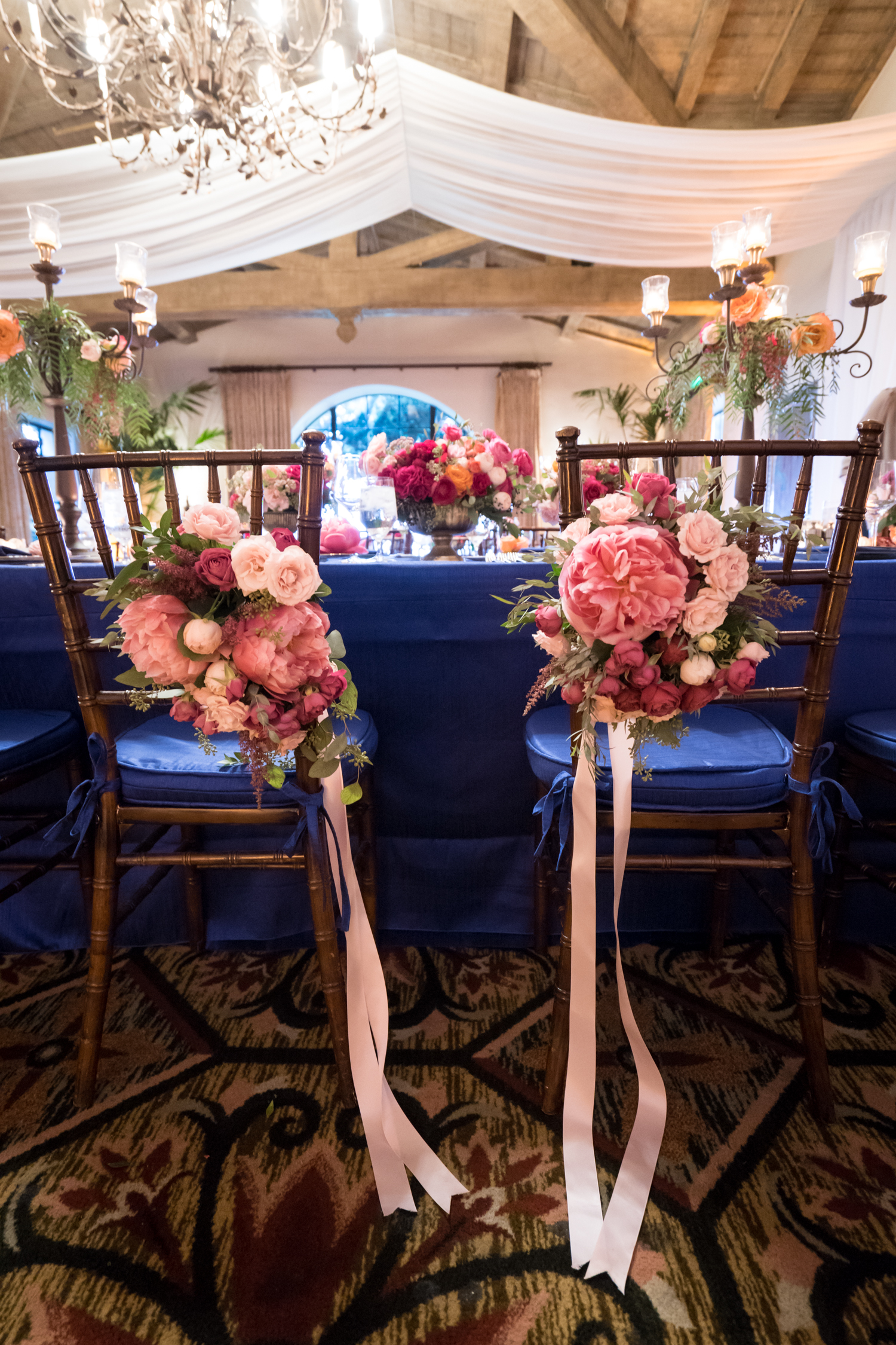 www.santabarbarawedding.com | Miki & Sonja Photography | Four Seasons Resort The Biltmore | Imagine Weddings & Special Events | La Tavola Linens | Tino Productions | Reception Tables