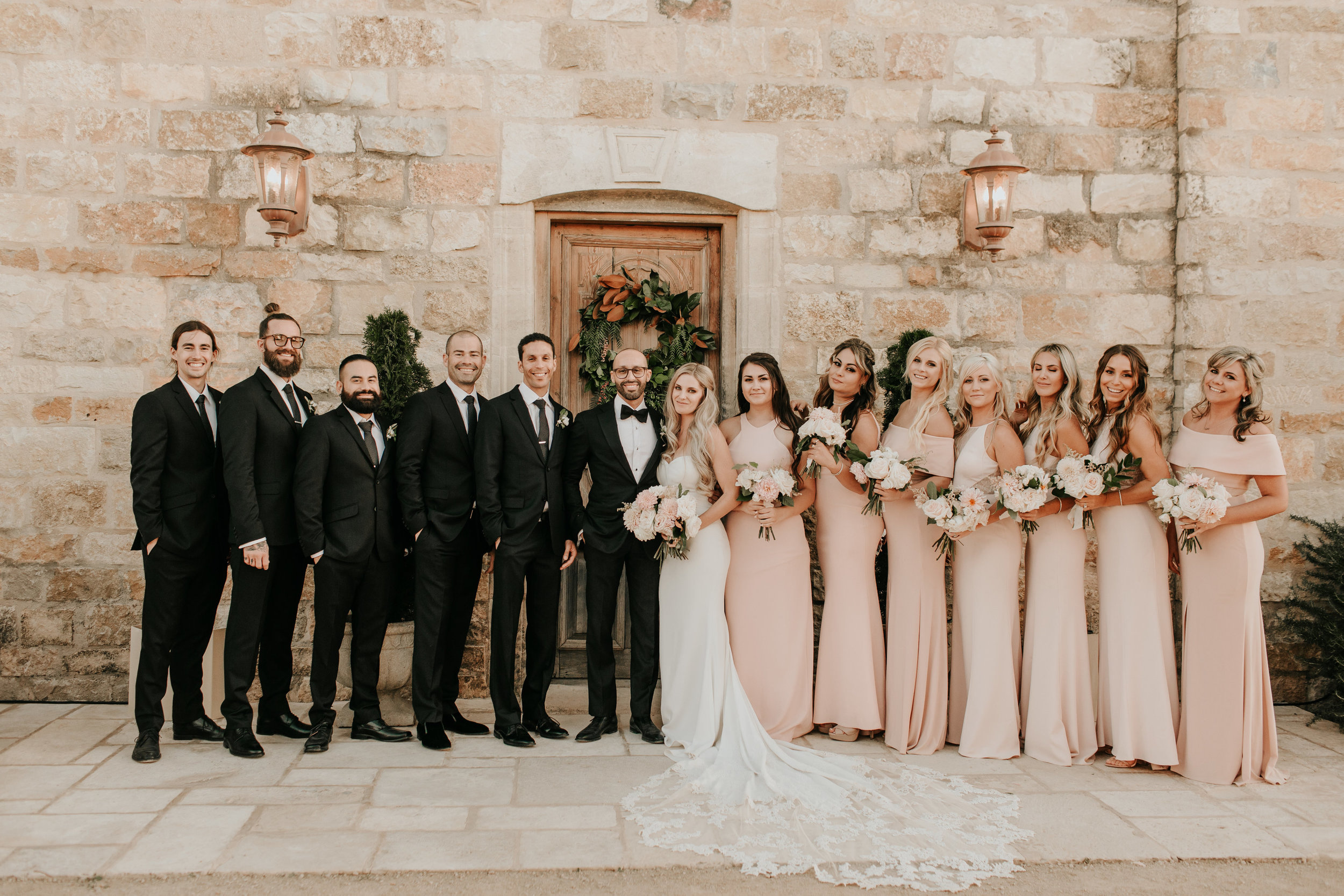 www.santabarbarawedding.com | Alexandria Monette Photography | Sunstone Villa | Soleil Events | Anna le Pley Taylor Flowers | Bridal Party