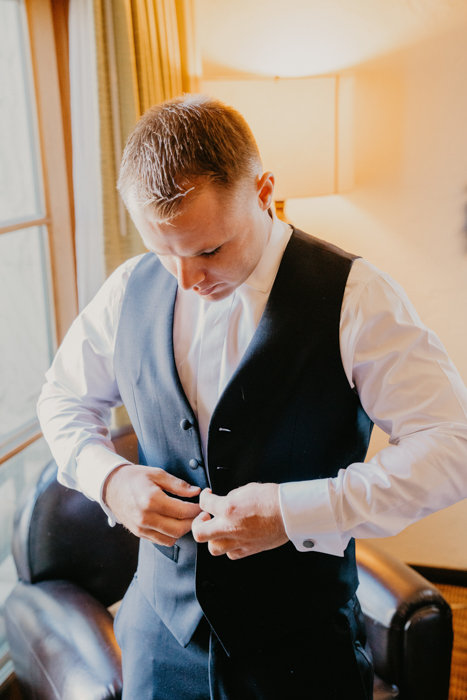 www.santabarbarawedding.com | Hyatt Centric, Santa Barbara Courthouse, Santa Barbara Historical Museum | Candice Marie Photography | Just As Promised Events | Groom Getting Ready