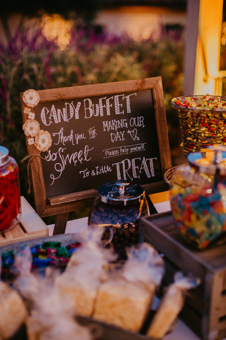 www.santabarbarawedding.com | Hyatt Centric, Santa Barbara Courthouse, Santa Barbara Historical Museum | Candice Marie Photography | Just As Promised Events | Wedding Reception Candy Buffet