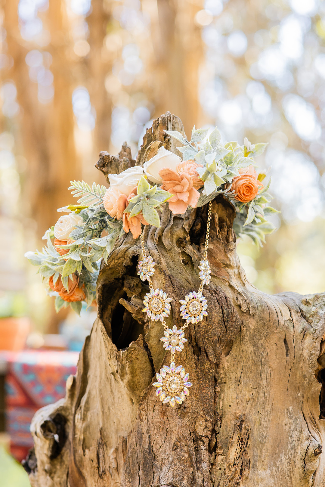 www.santabarbarawedding.com   Staci and Michael Photography   Montana de Oro State Park   EverAfter Wood Floral   Green Lake Jewelry Works   Maui Divers Jewelry   Bride necklace and flower crown