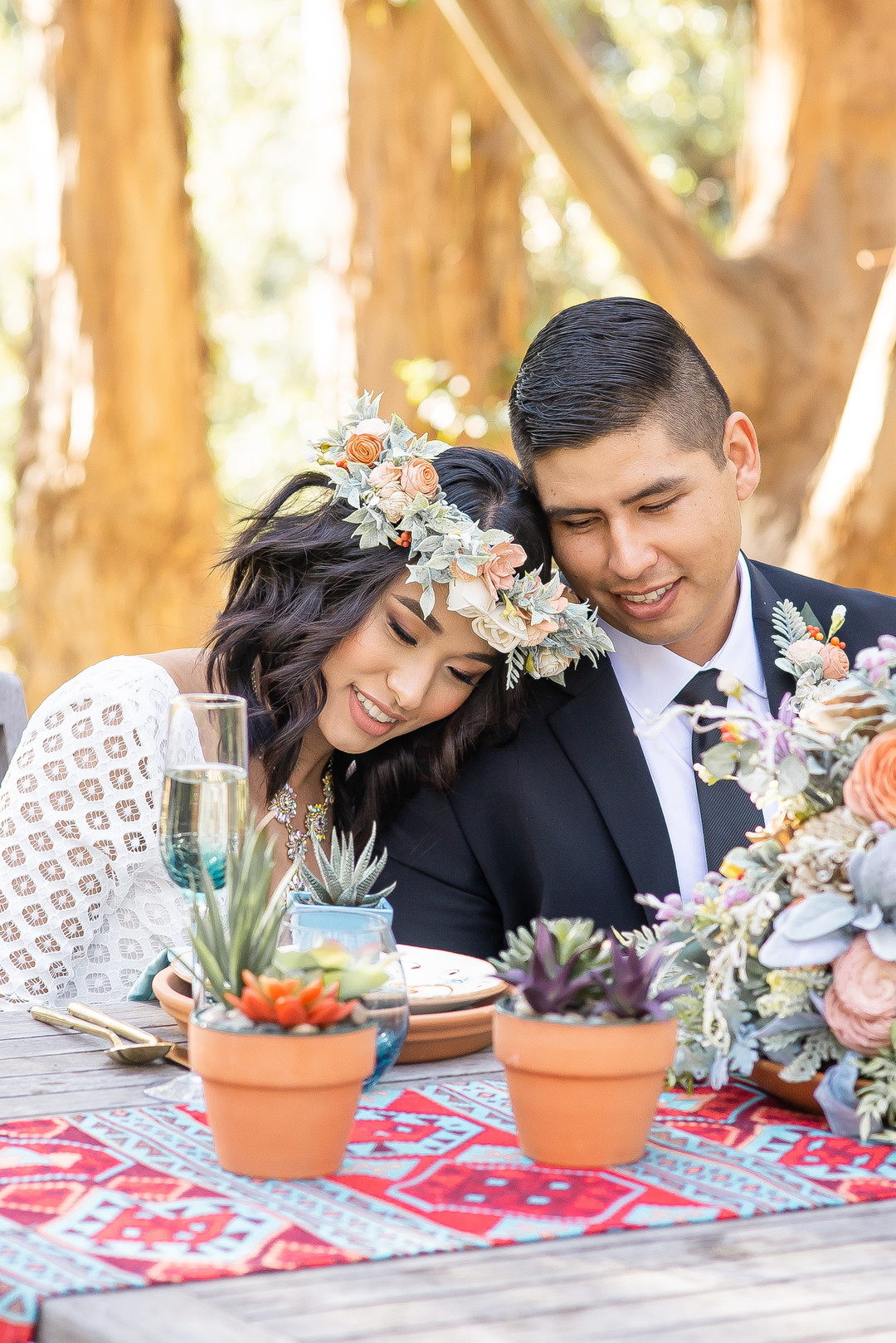 www.santabarbarawedding.com   Staci and Michael Photography   Montana de Oro State Park   EverAfter Wood Floral   Pier 1 Imports   Makeup by Madisen Wickliffe   Express   Bride and groom