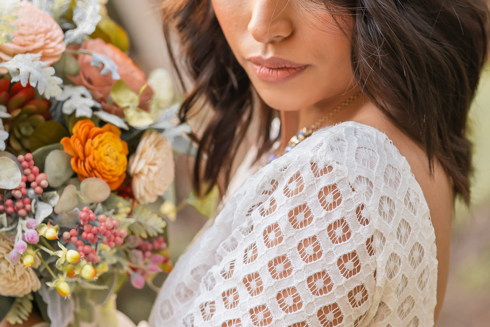 www.santabarbarawedding.com   Staci and Michael Photography   Montana de Oro State Park   EverAfter Wood Floral   Makeup by Madisen Wickliffe   Bride
