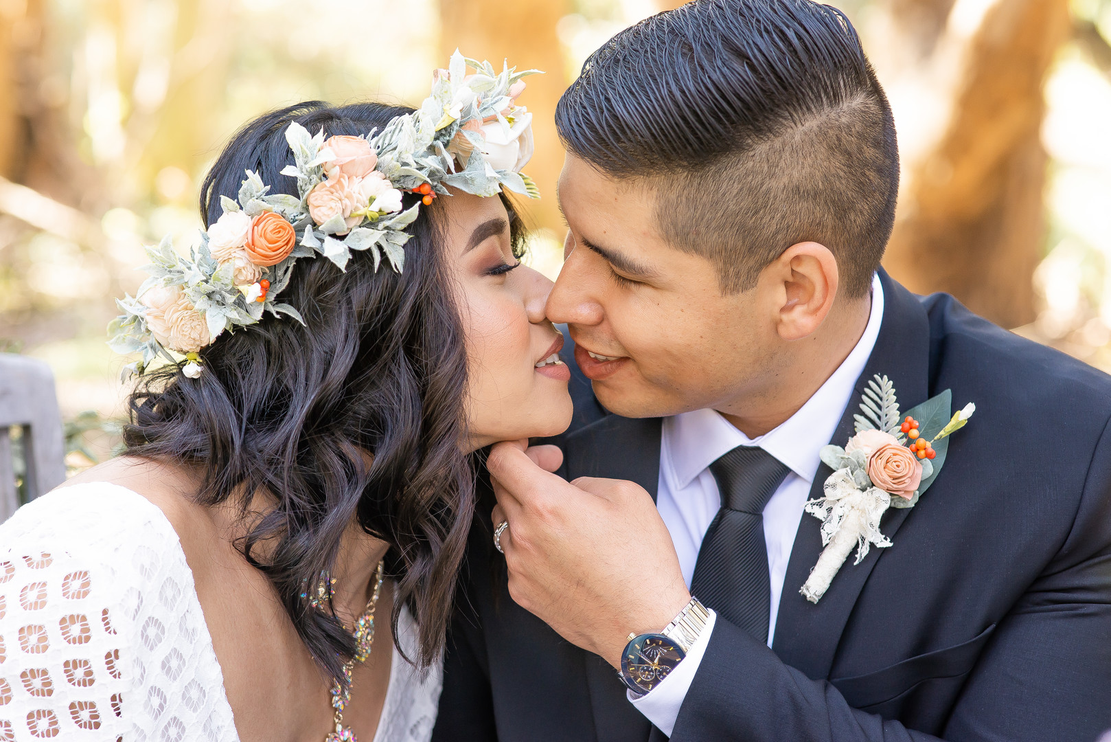 www.santabarbarawedding.com   Staci and Michael Photography   Montana de Oro State Park   EverAfter Wood Floral   Makeup by Madisen Wickliffe   Express   Bride and groom